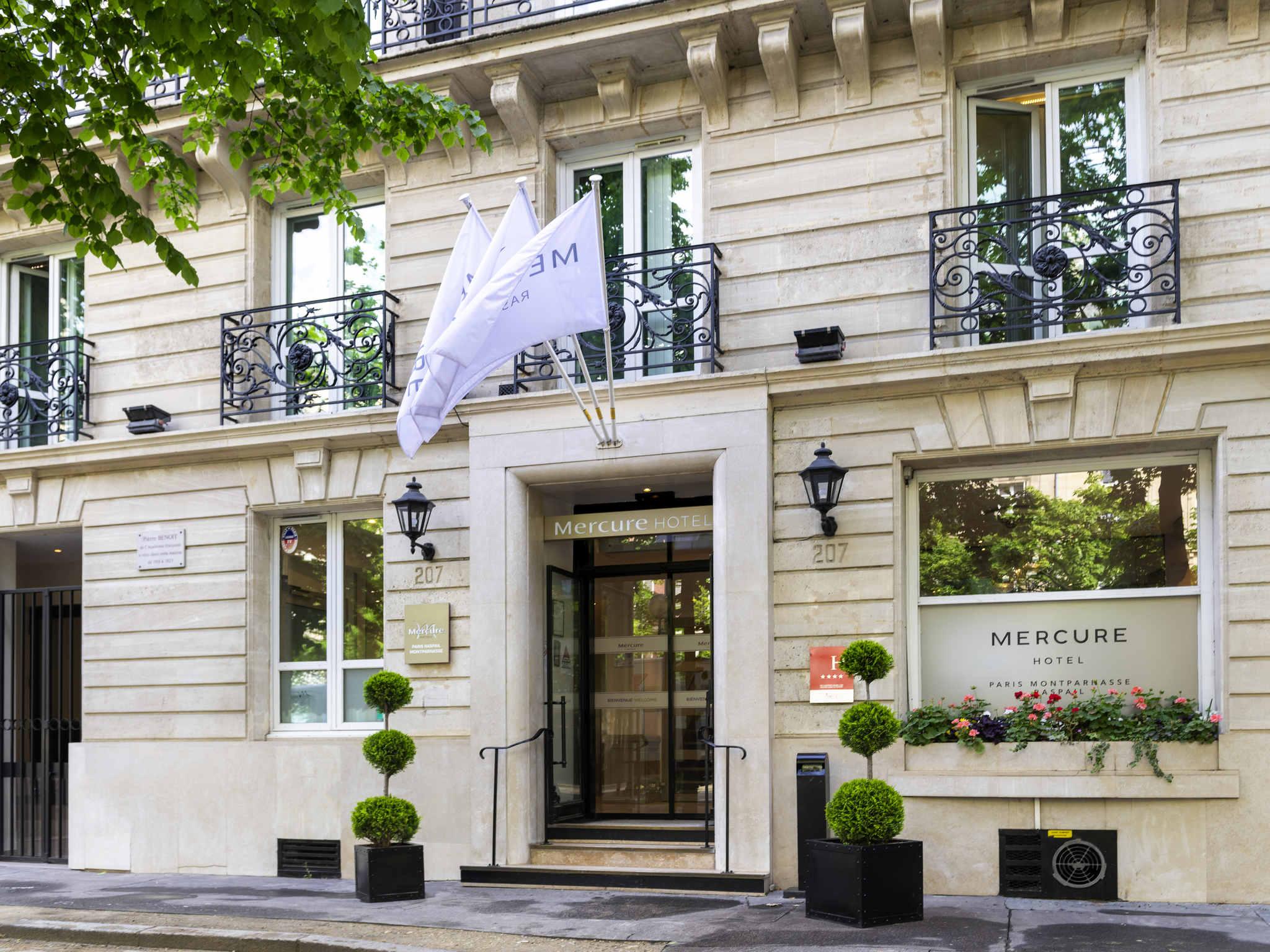 Hotell – Hotell Mercure Paris Montparnasse Raspail