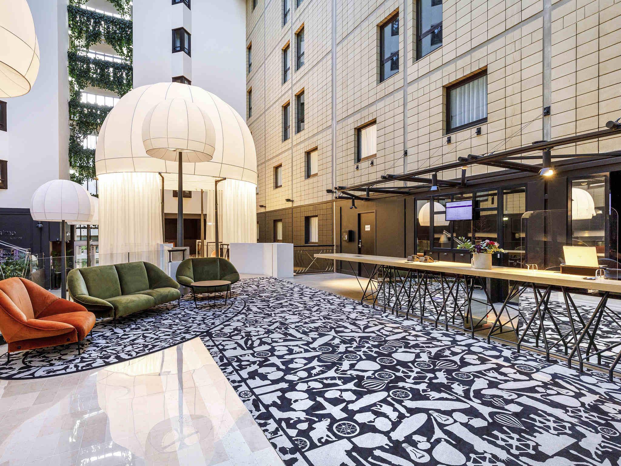 酒店 – 巴黎凡尔赛门会展中心美居酒店