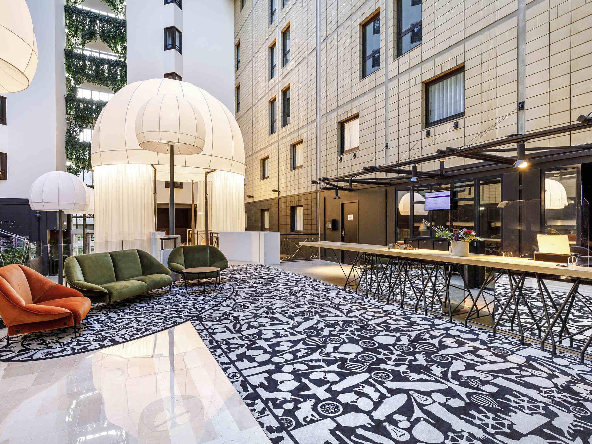 Hotel – Hotel Mercure París Puerta de Versalles Exposición