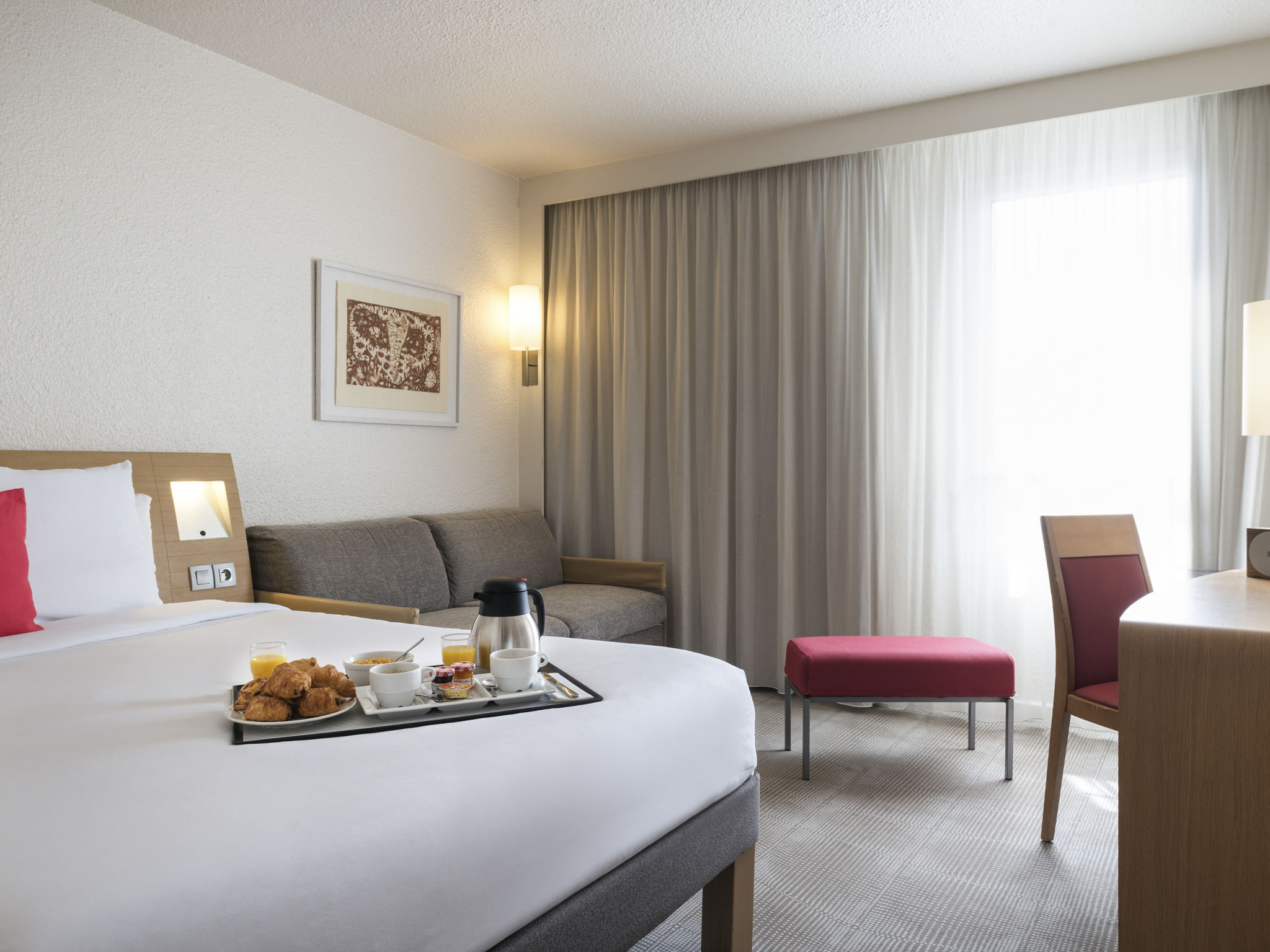 Отель — Novotel Париж Восток