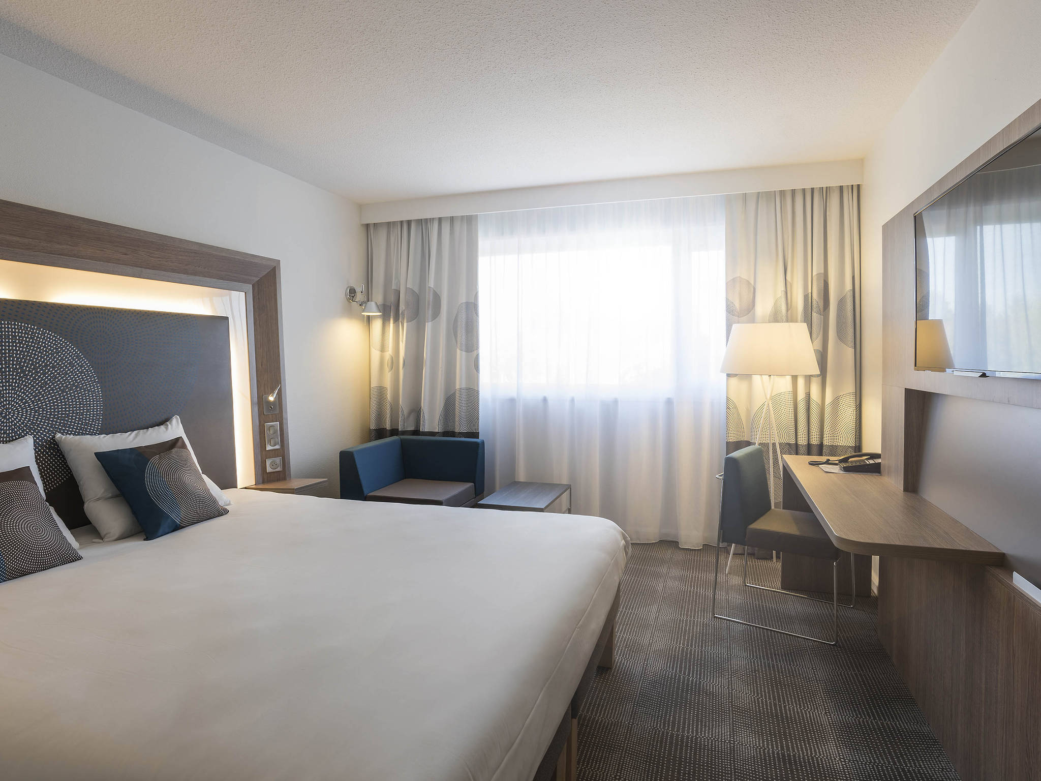 Rooms Novotel Paris Nord Expo