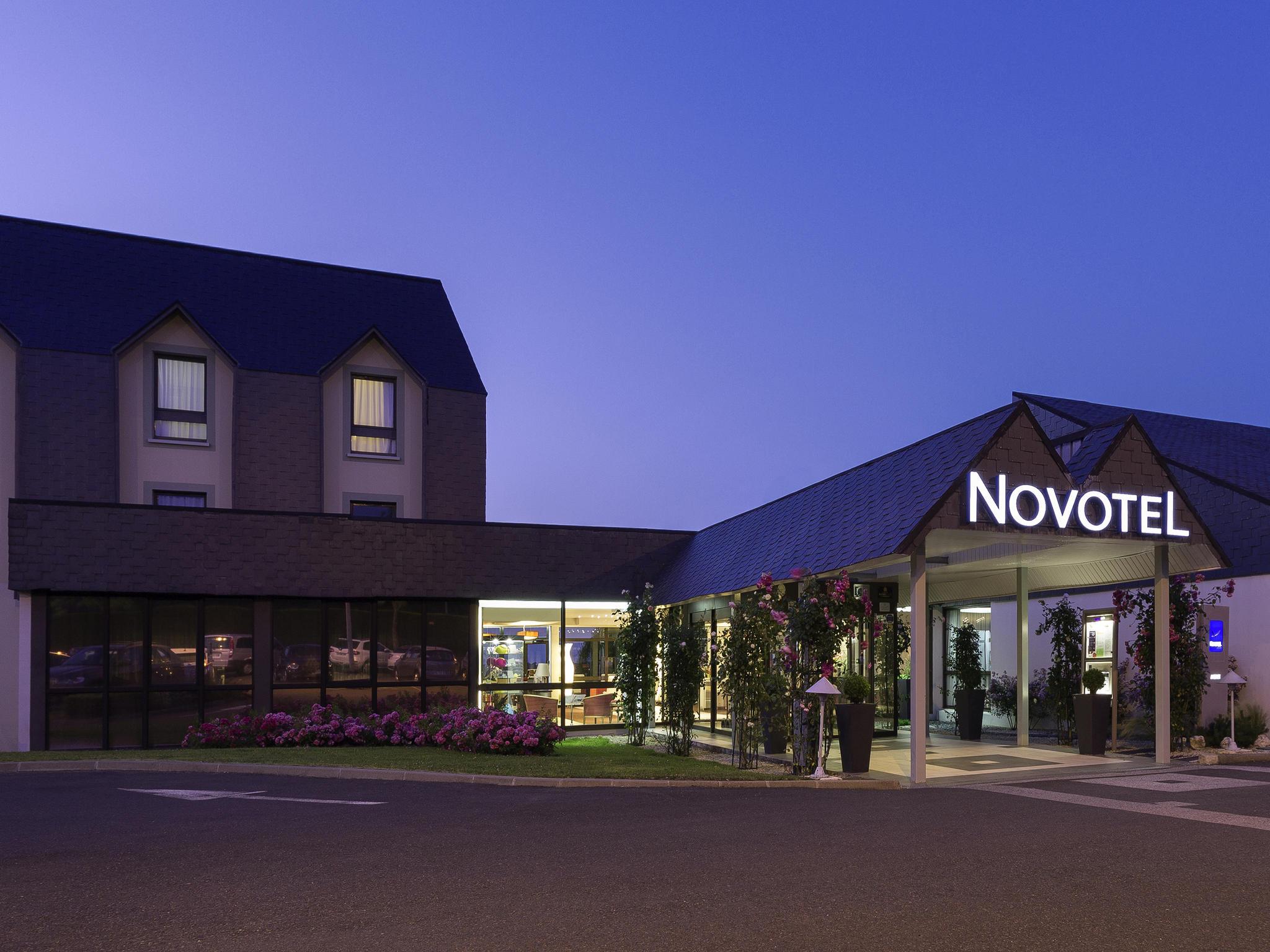 Отель — Novotel Амбуаз