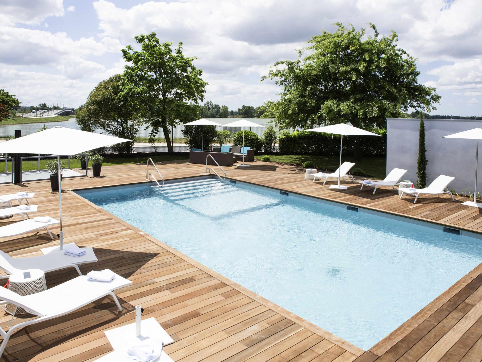 Hotell – Novotel Bordeaux Lac
