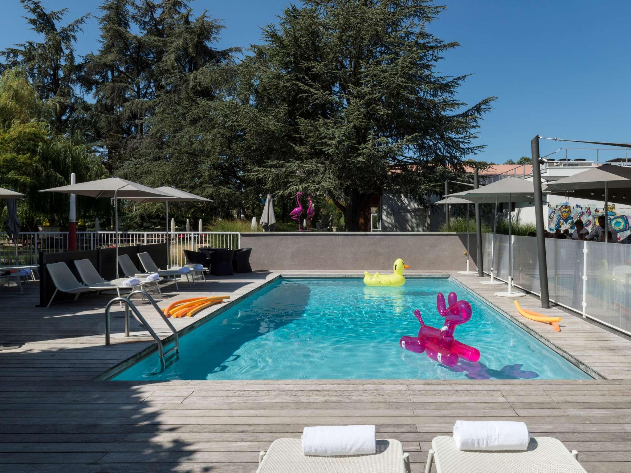 酒店 – 里昂布隆会展中心诺富特酒店