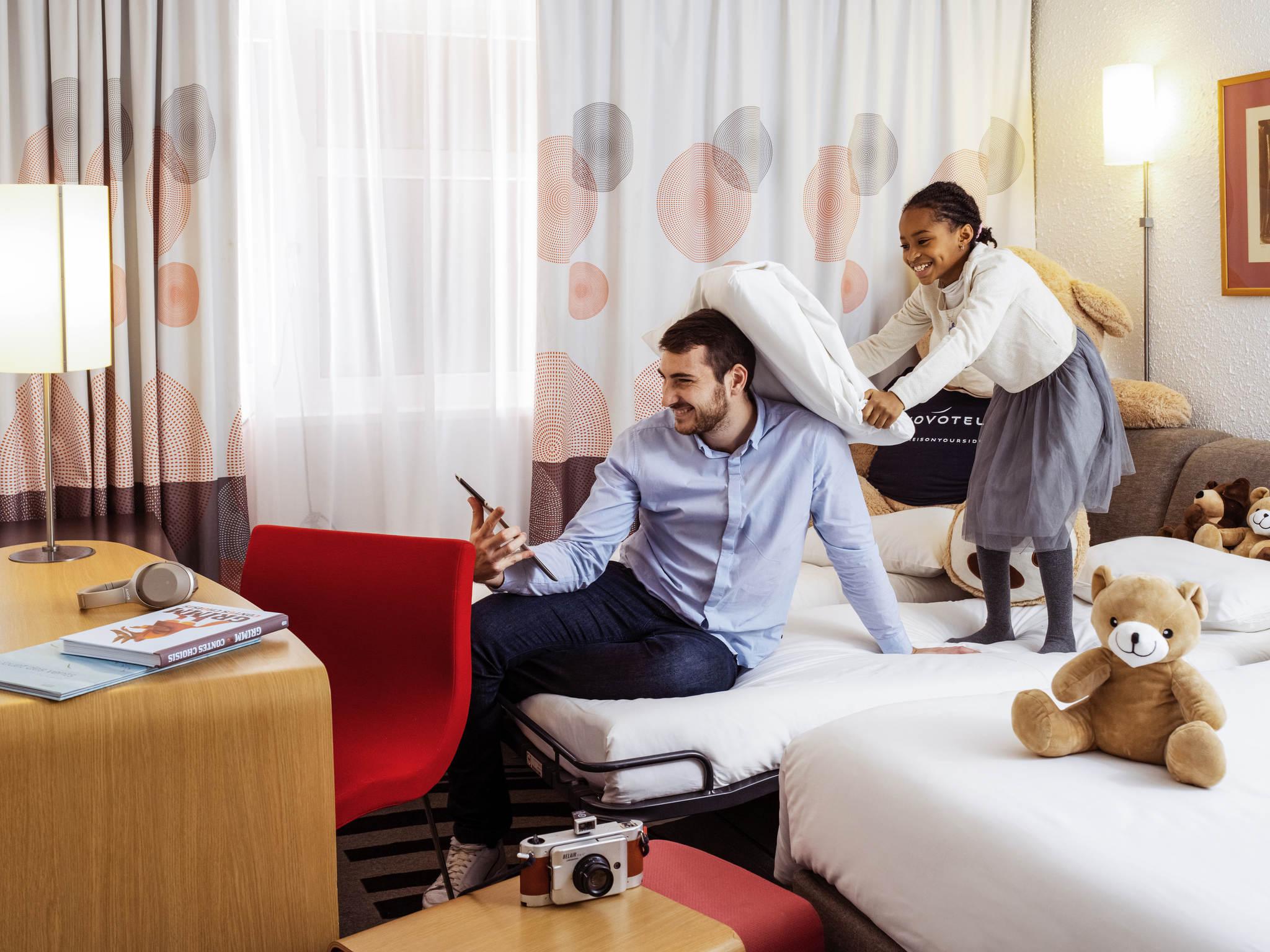 ホテル – ノボテルリヨンノールポルトドリヨン