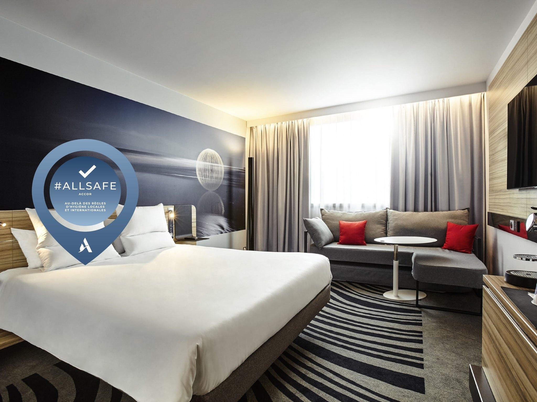 hotel in strasbourg - novotel strasbourg centre halles