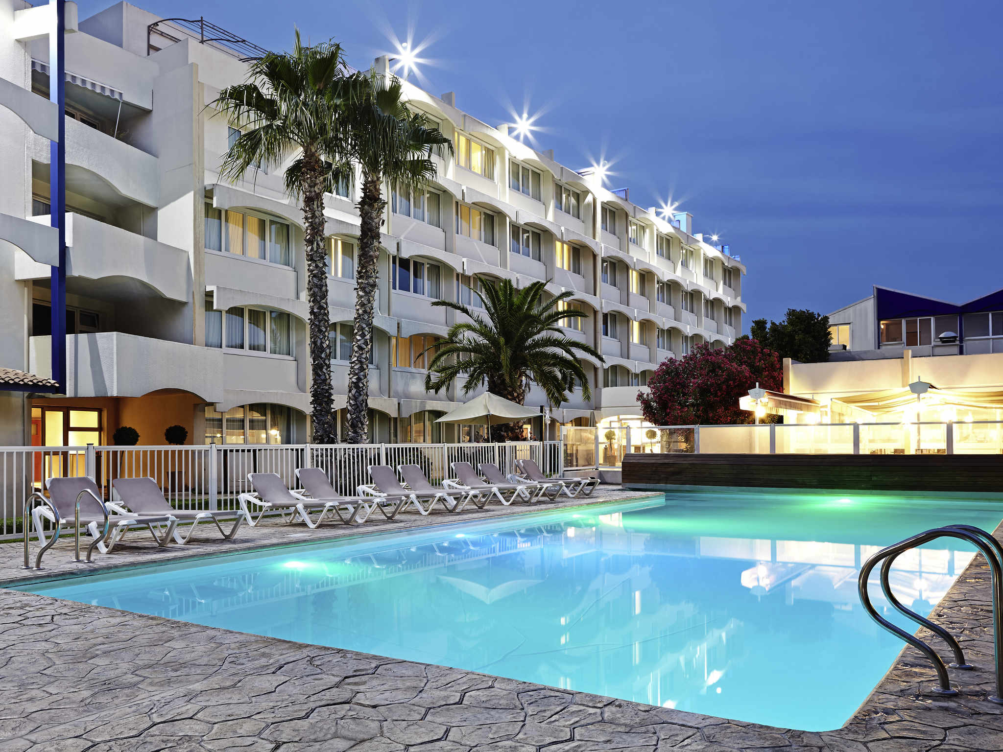 โรงแรม – Novotel Montpellier