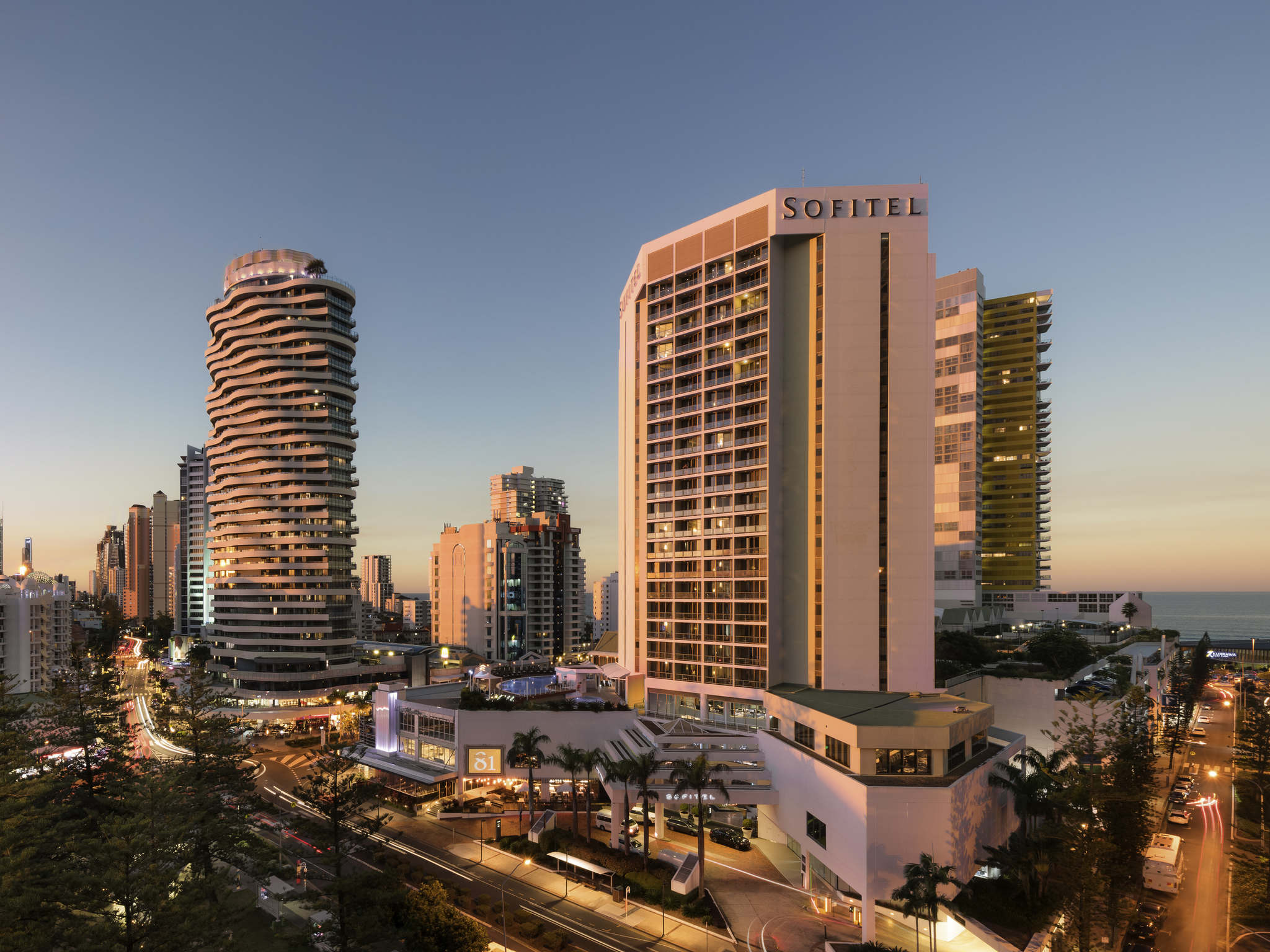 فندق - Sofitel Gold Coast Broadbeach