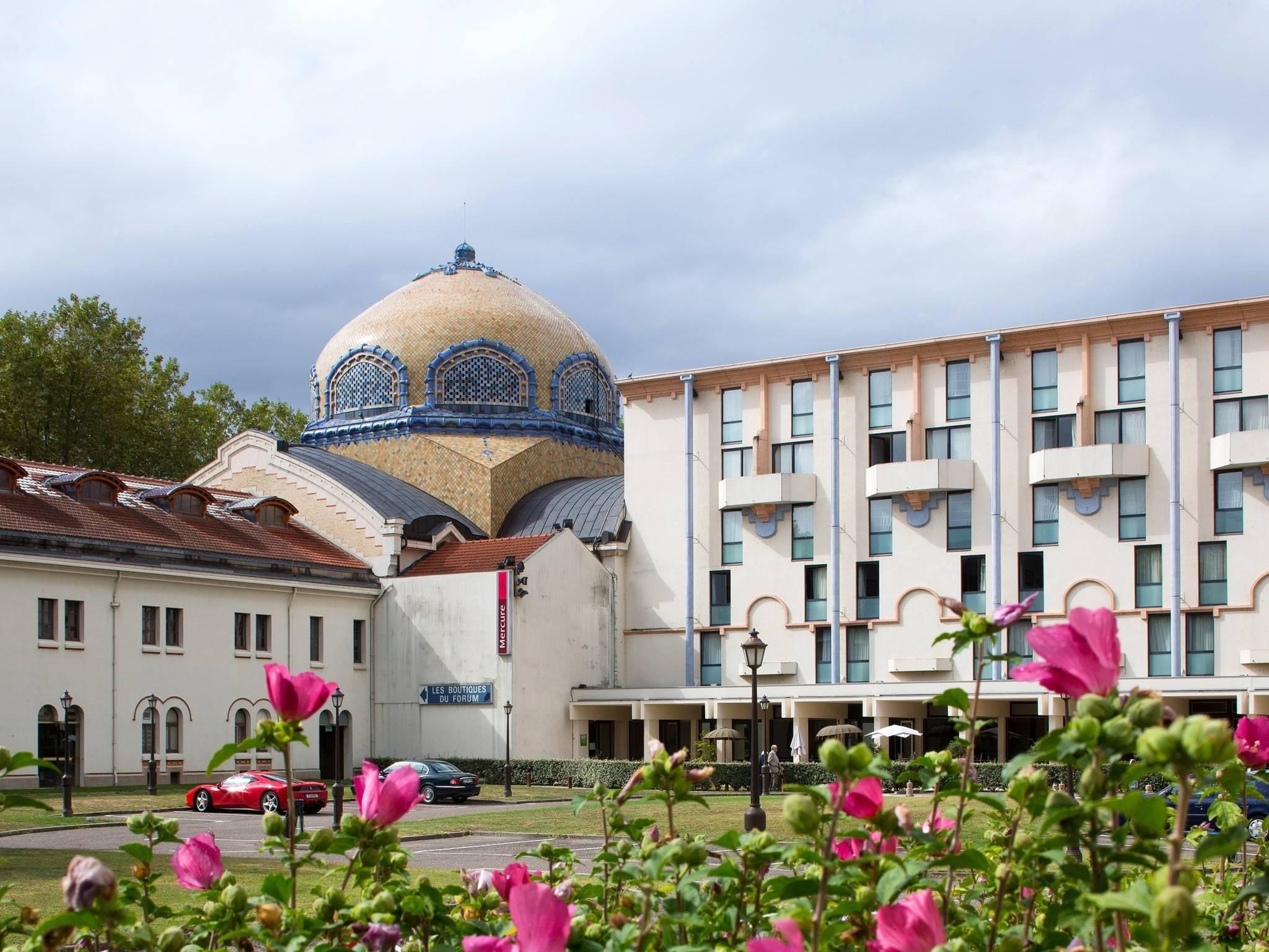 โรงแรม – Hôtel Mercure Vichy Thermalia