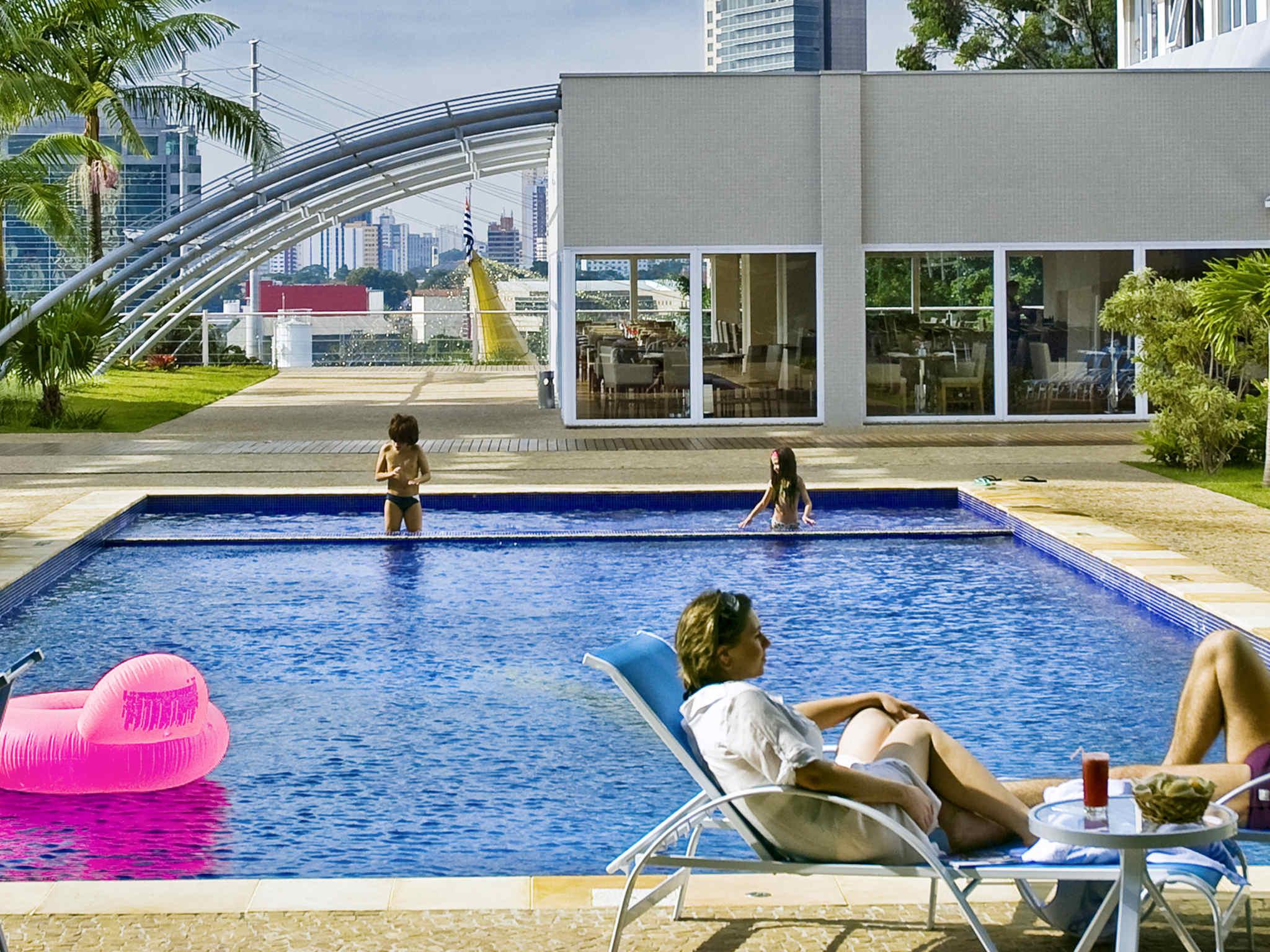 호텔 – Novotel São Paulo Morumbi