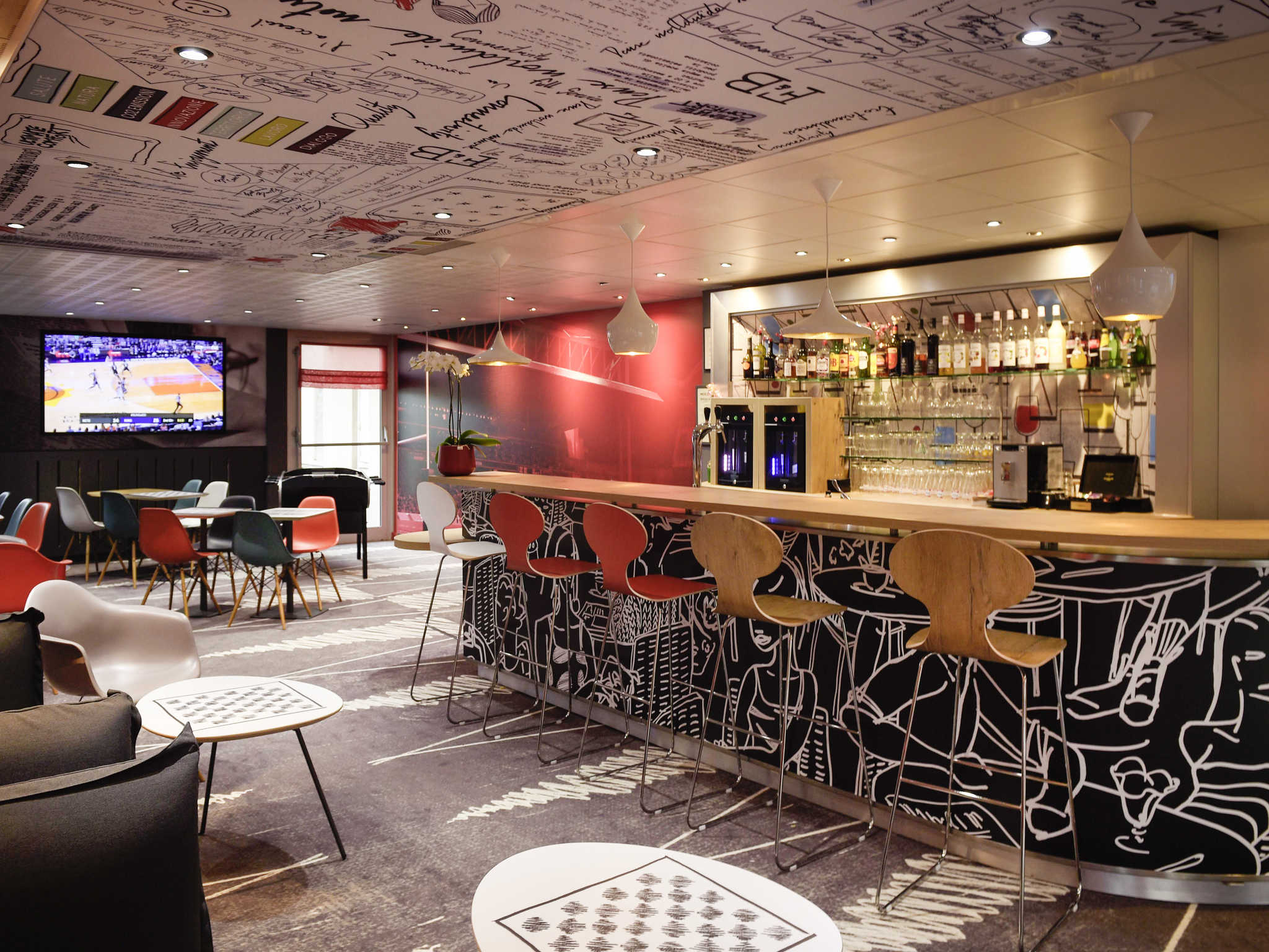 โรงแรม – ibis Lyon Gerland Rue Mérieux