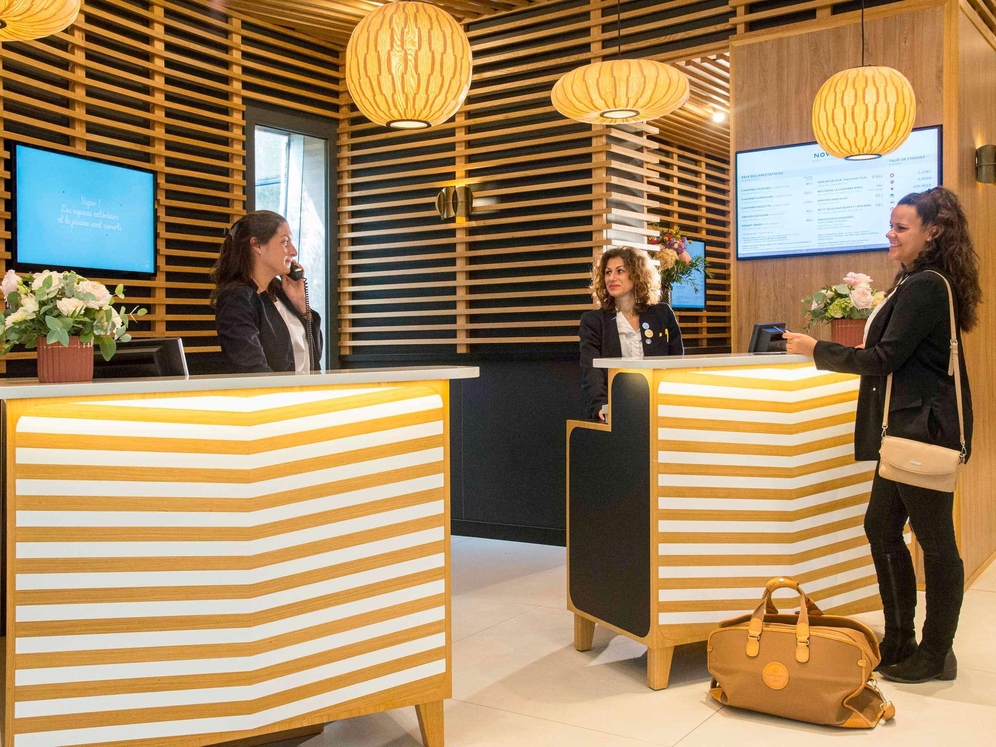 Отель — Novotel Ницца Аэропорт Аренас
