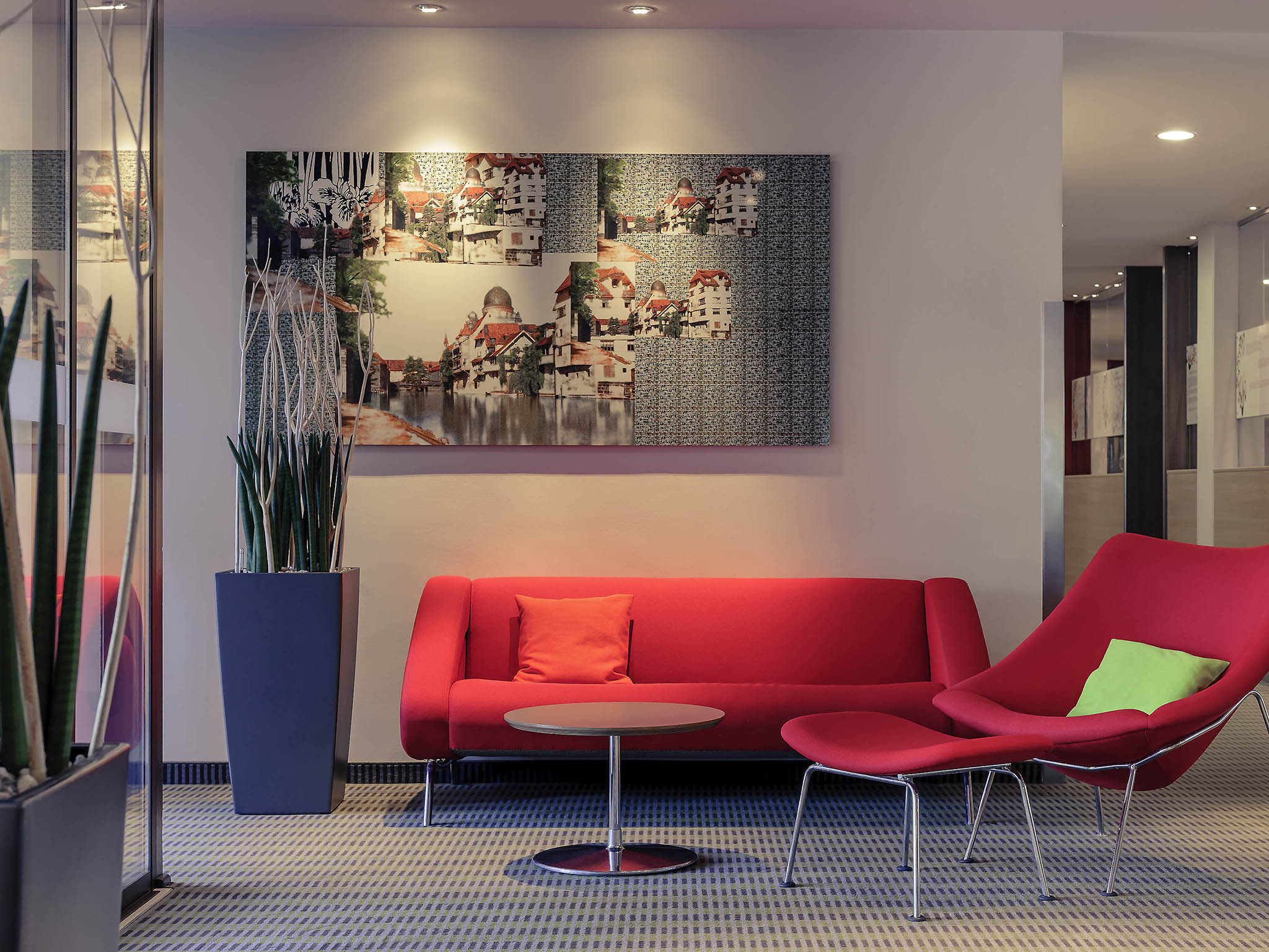 Fuerther Hotel Mercure Nuernberg West. Book now!