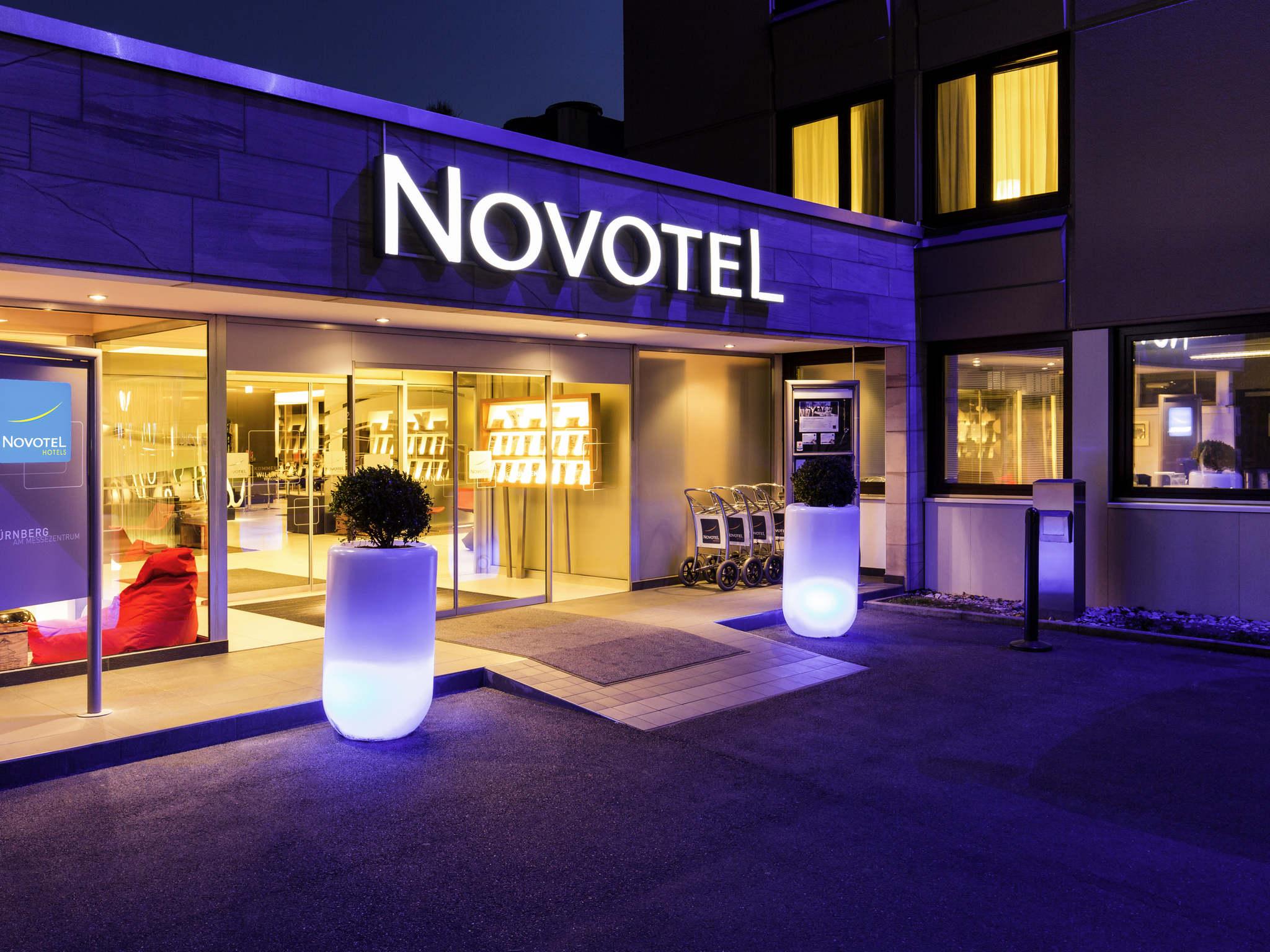 Hotell – Novotel Nuernberg Messezentrum