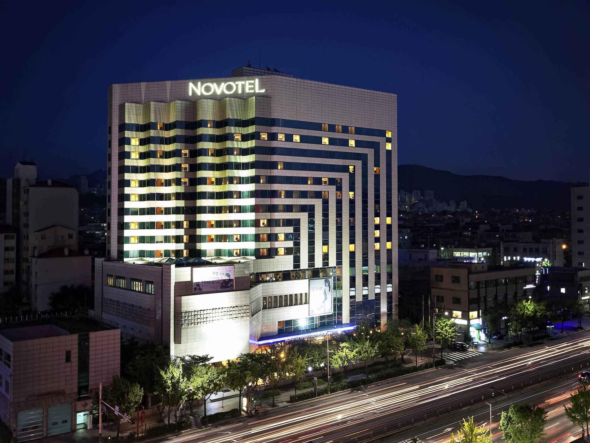 Отель — Novotel Амбассадор Сеул Доксан