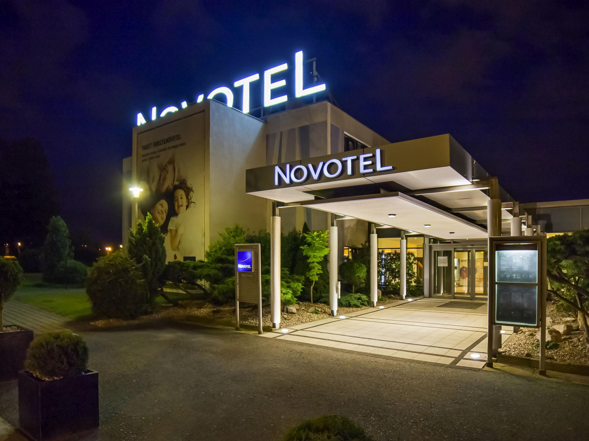 Otel – Novotel Poznan Malta