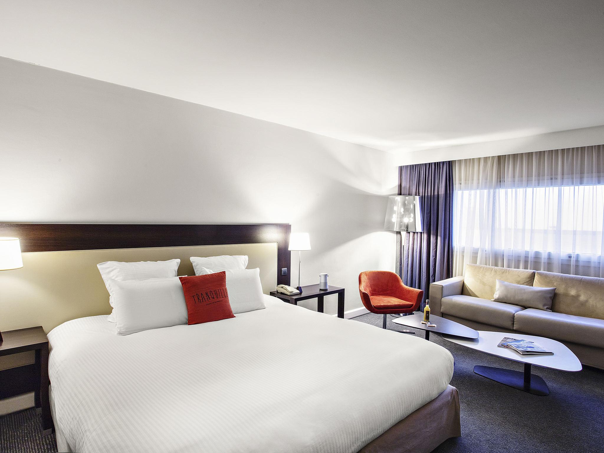 酒店 – 马塞普罗旺斯机场铂尔曼酒店