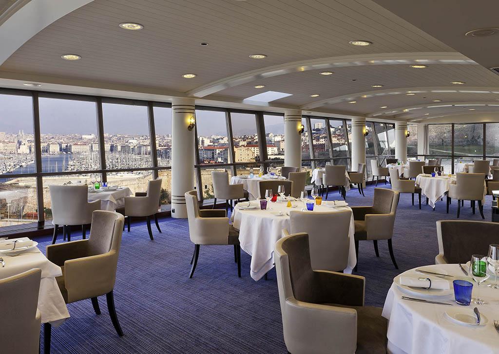 haute cuisine hotel restaurants in marseille sofitel marseille vieux port