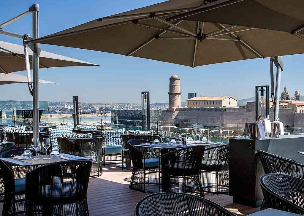 Haute cuisine hotel restaurants in marseille sofitel - Restaurant italien marseille vieux port ...