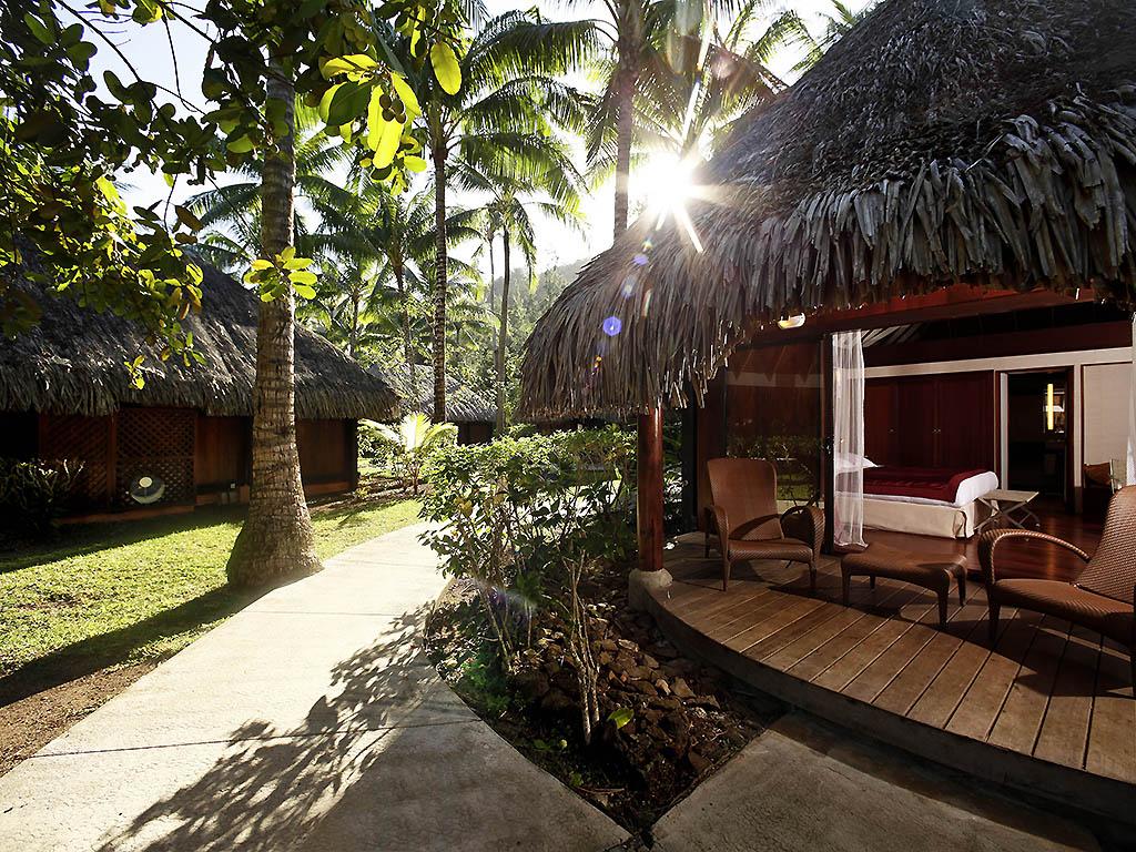 Luxury Hotel Vaitape Sofitel Bora Bora Marara Beach Resort
