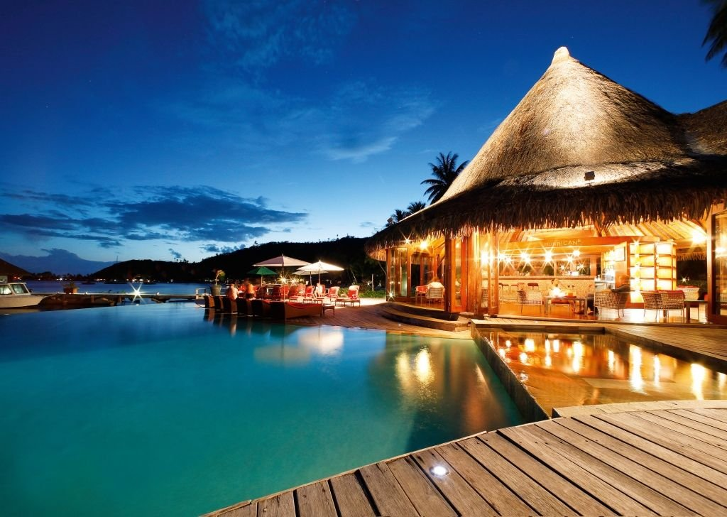 Luxury hotel vaitape sofitel bora bora marara beach resort for Luxury beach hotels
