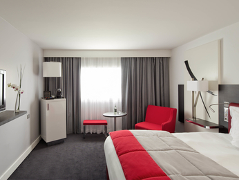 Quartos - Hotel Mercure Paris CDG Airport & Convention