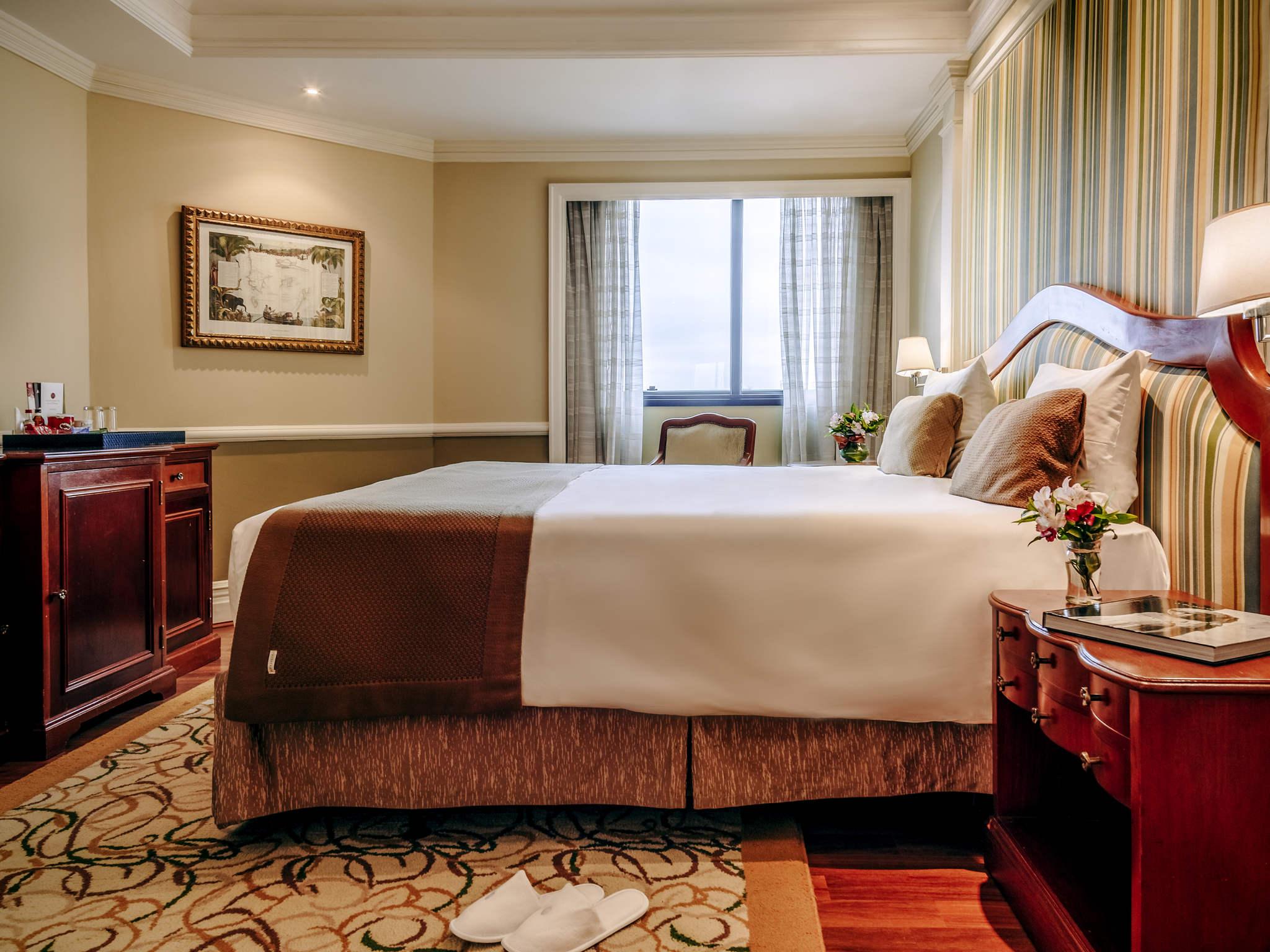 Отель — Отель Grand Mercure Сан-Паулу Ибирапуэра