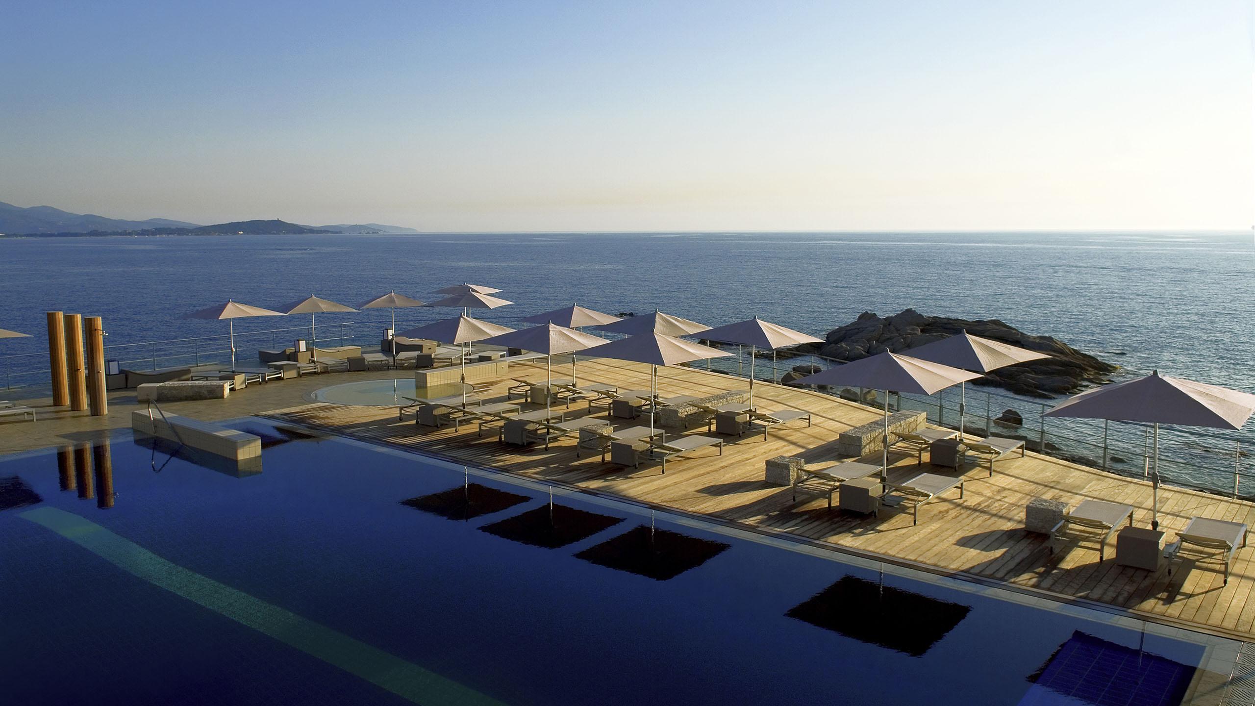 Luxury Hotel PORTICCIO Sofitel Golfe DAjaccio Thalassa Sea Spa