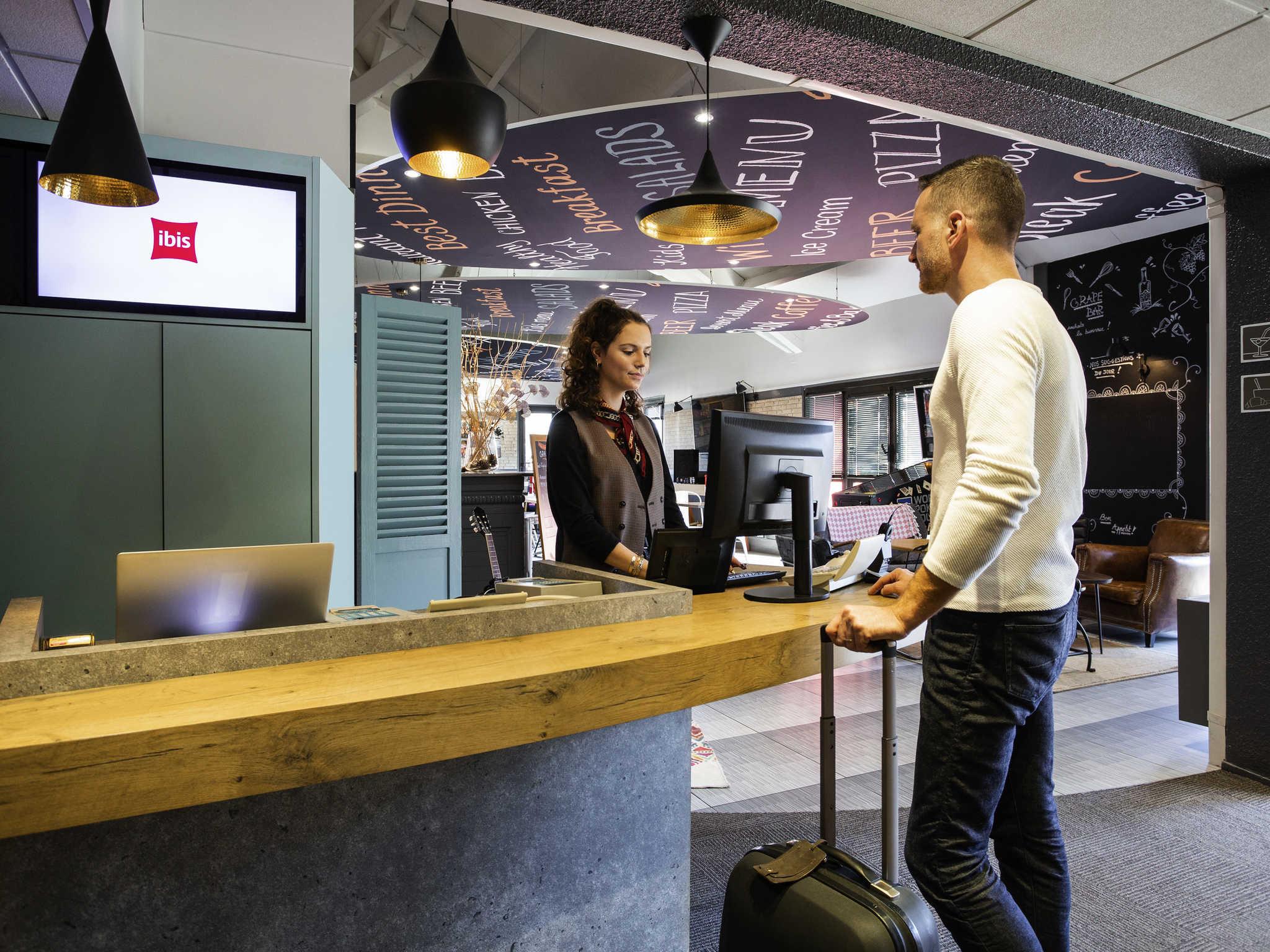 โรงแรม – ibis Bordeaux Aéroport