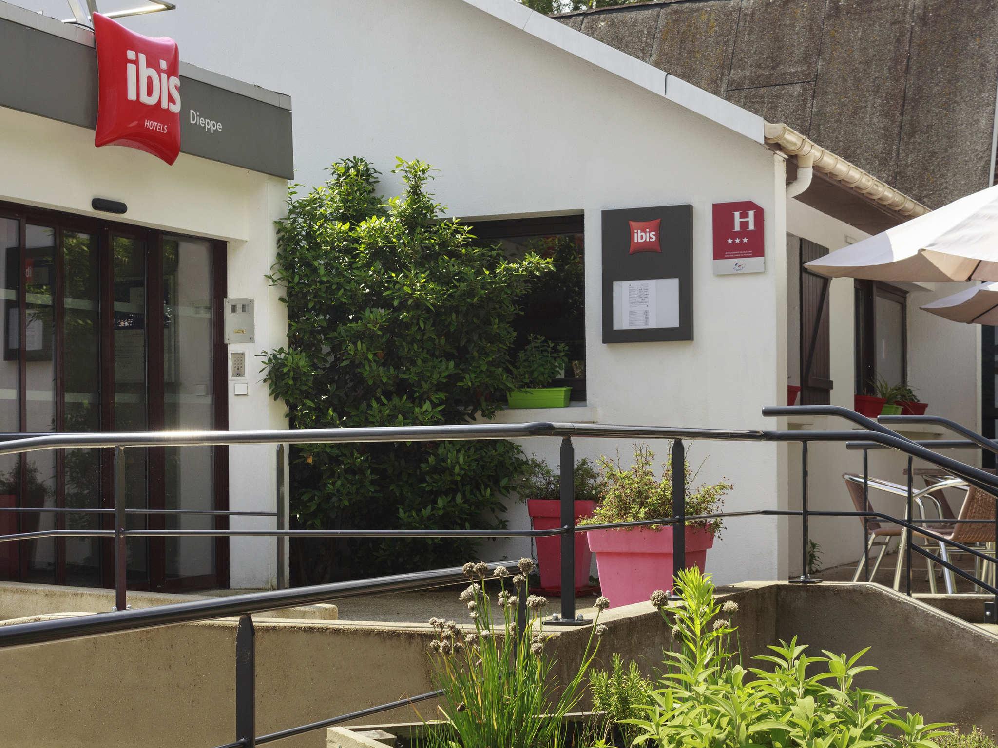Hotell – ibis Dieppe Val Druel