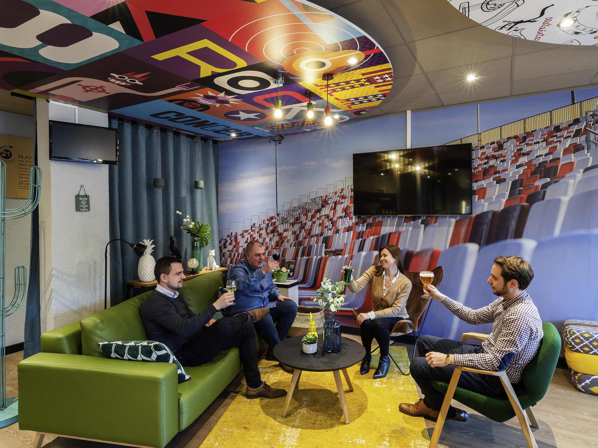 โรงแรม – ibis Lille Villeneuve-d'Ascq Grand Stade