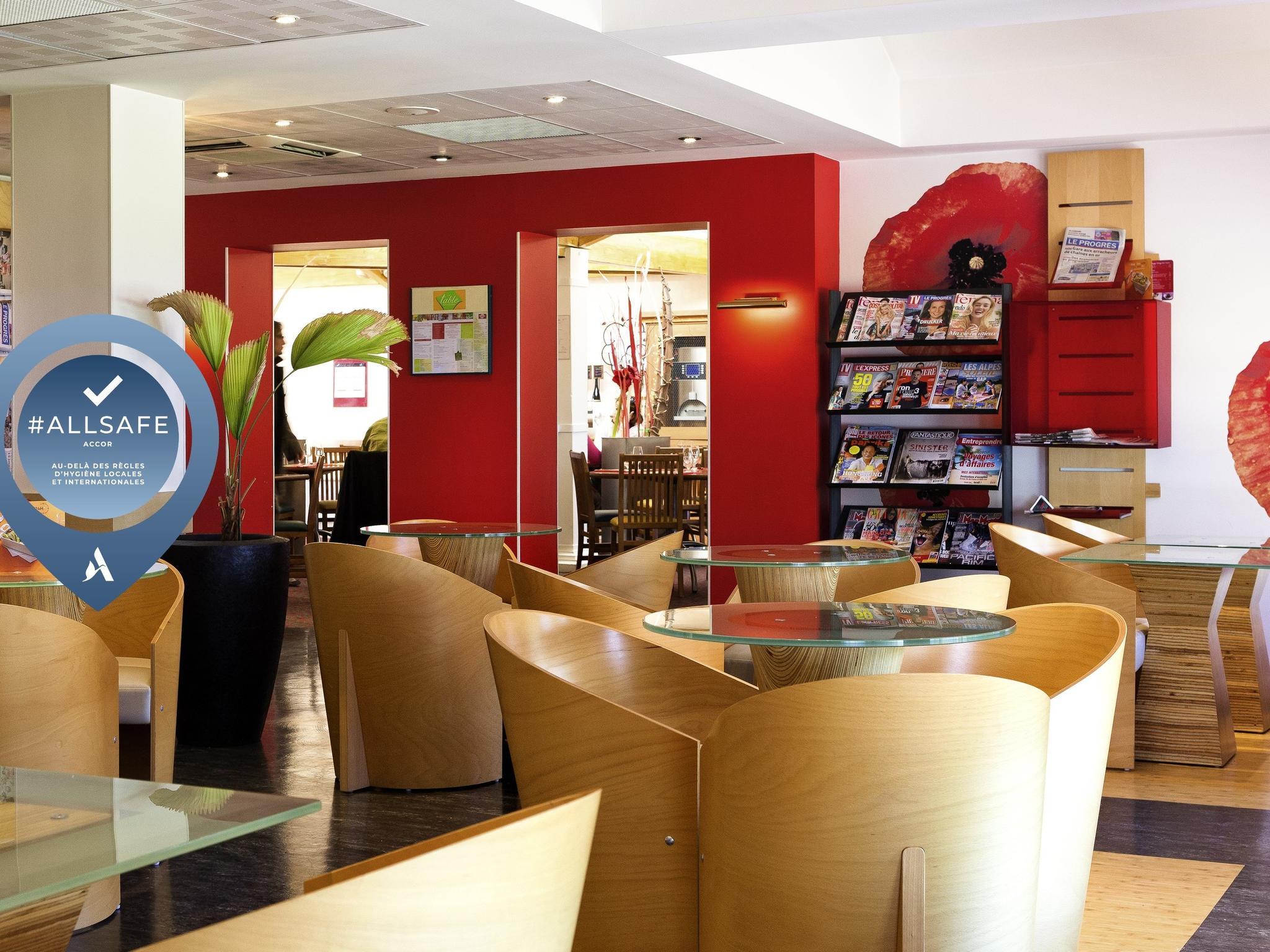 โรงแรม – ibis Lyon Est Bron