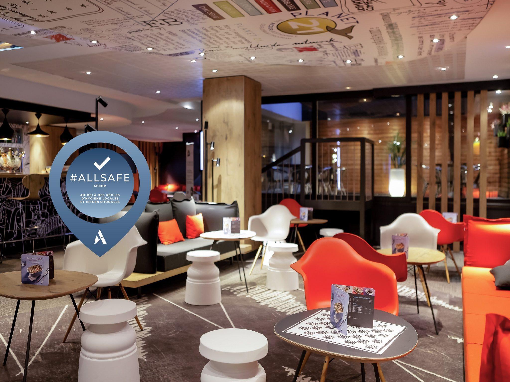 酒店 – 宜必思里昂 La Part Die 火车站酒店