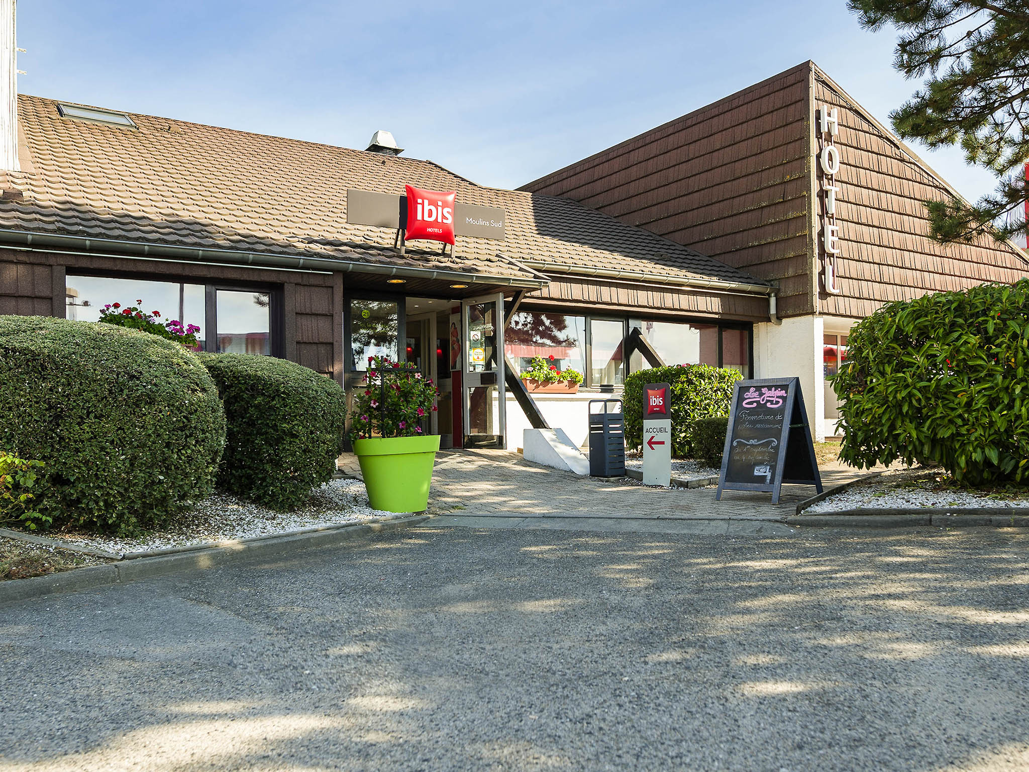 Hotell – ibis Moulins Sud