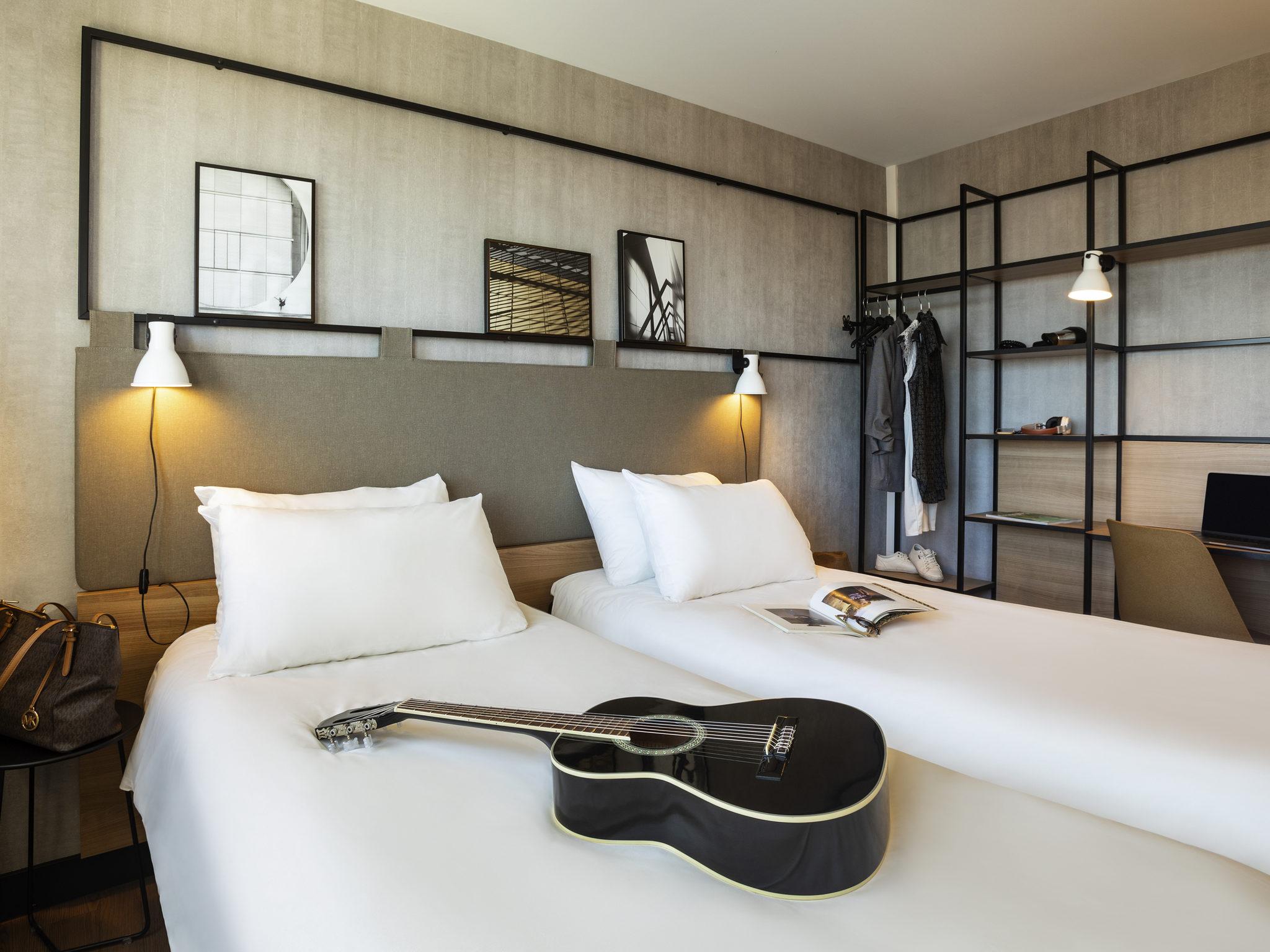Hotell – ibis Strasbourg Centre Halles