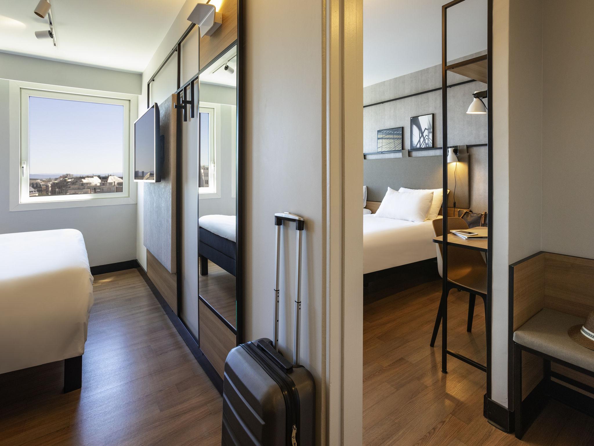 hotel en strasbourg ibis strasbourg centre halles. Black Bedroom Furniture Sets. Home Design Ideas