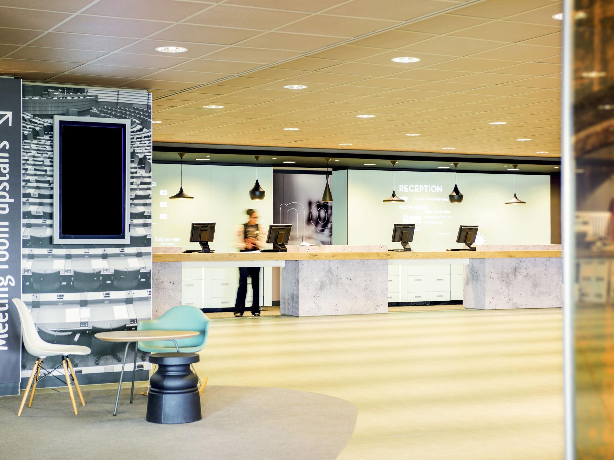 Отель — ibis Схипхол Амстердам Аэропорт