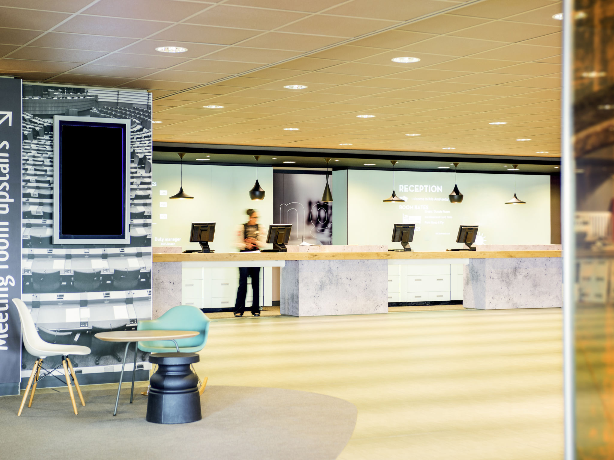 โรงแรม – ไอบิส อัมสเตอร์ดัม สคิปโพล แอร์พอร์ต