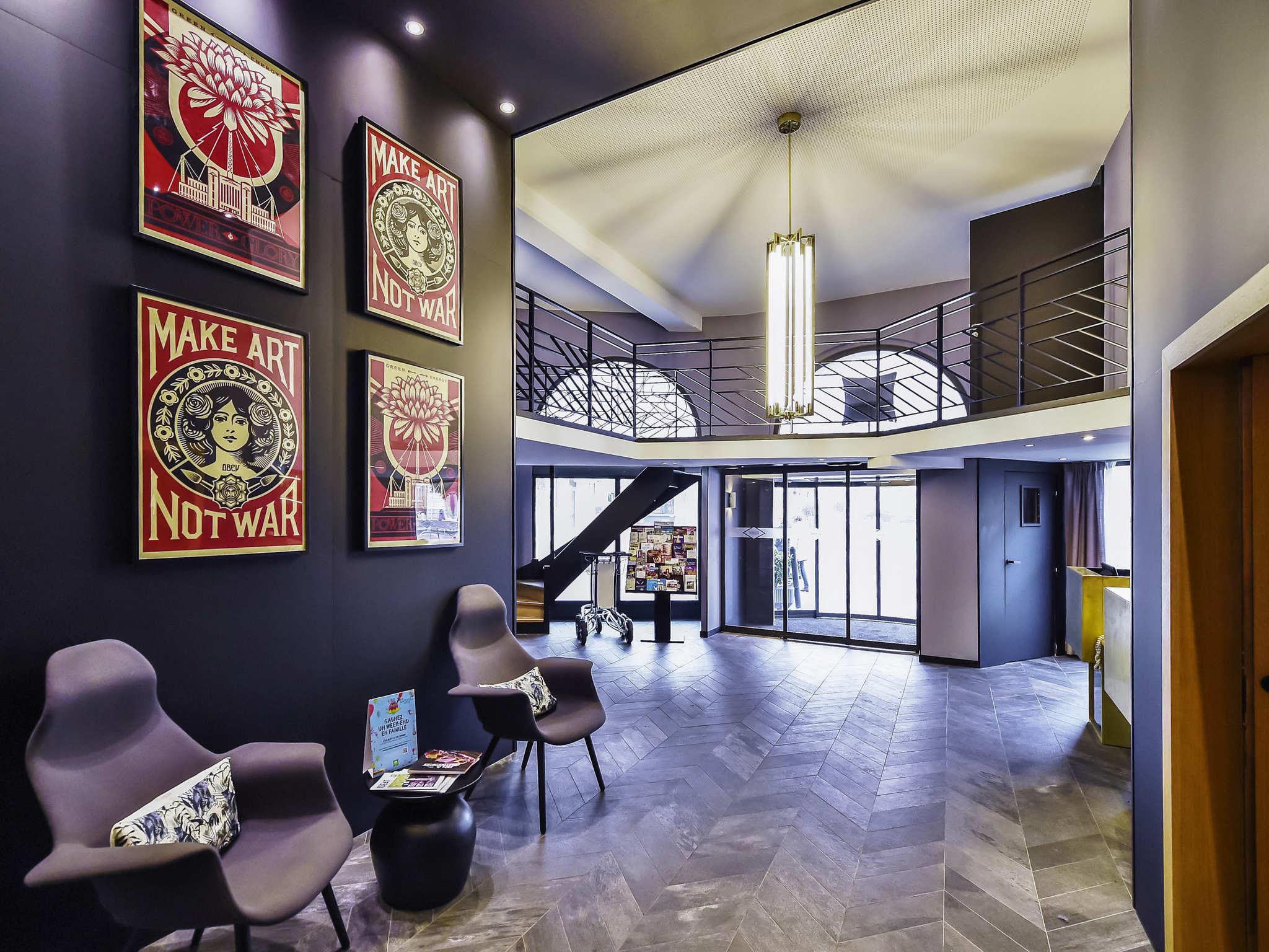 โรงแรม – ibis Styles Dijon Central
