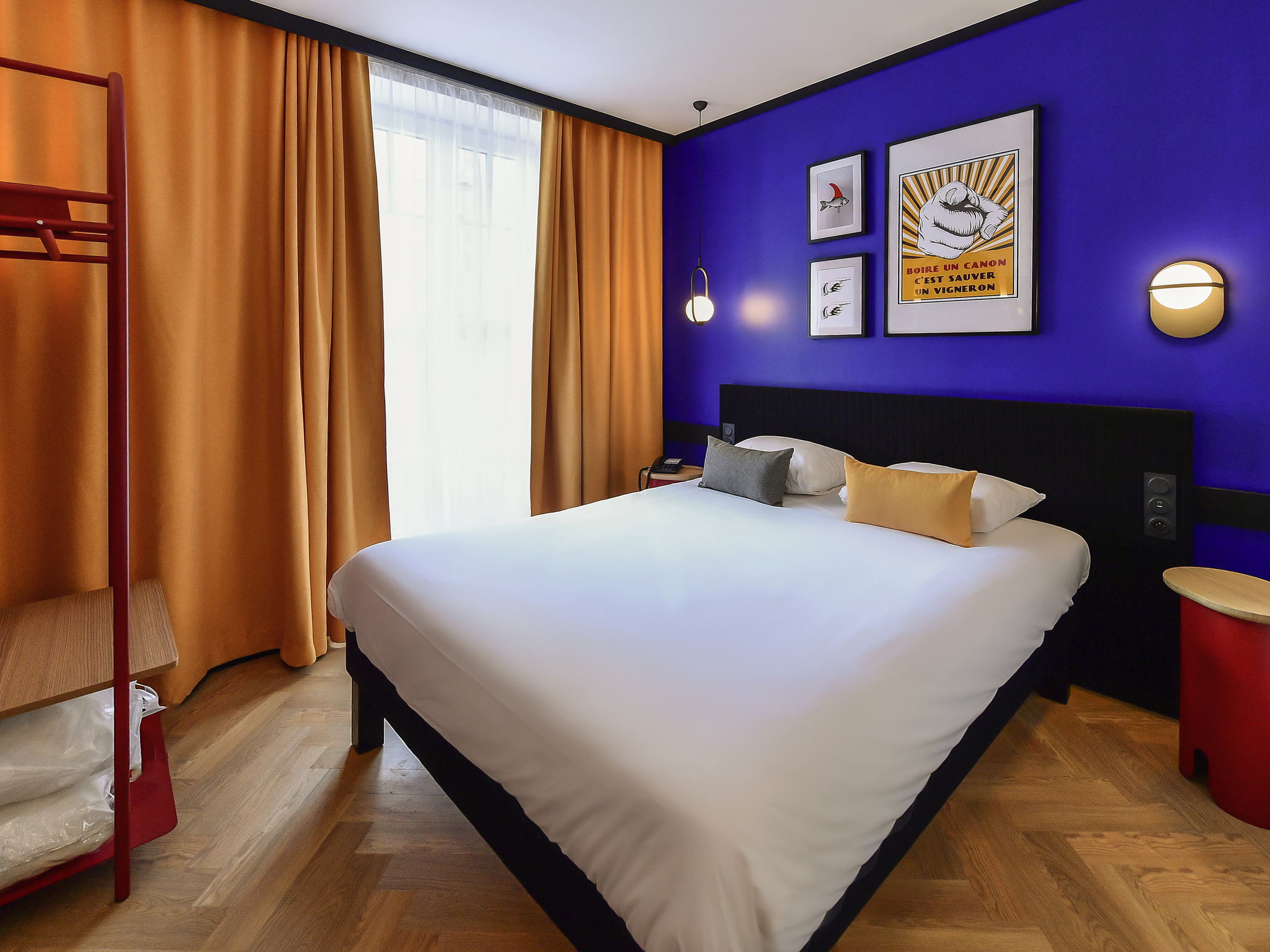 hotel in dijon ibis styles dijon central. Black Bedroom Furniture Sets. Home Design Ideas