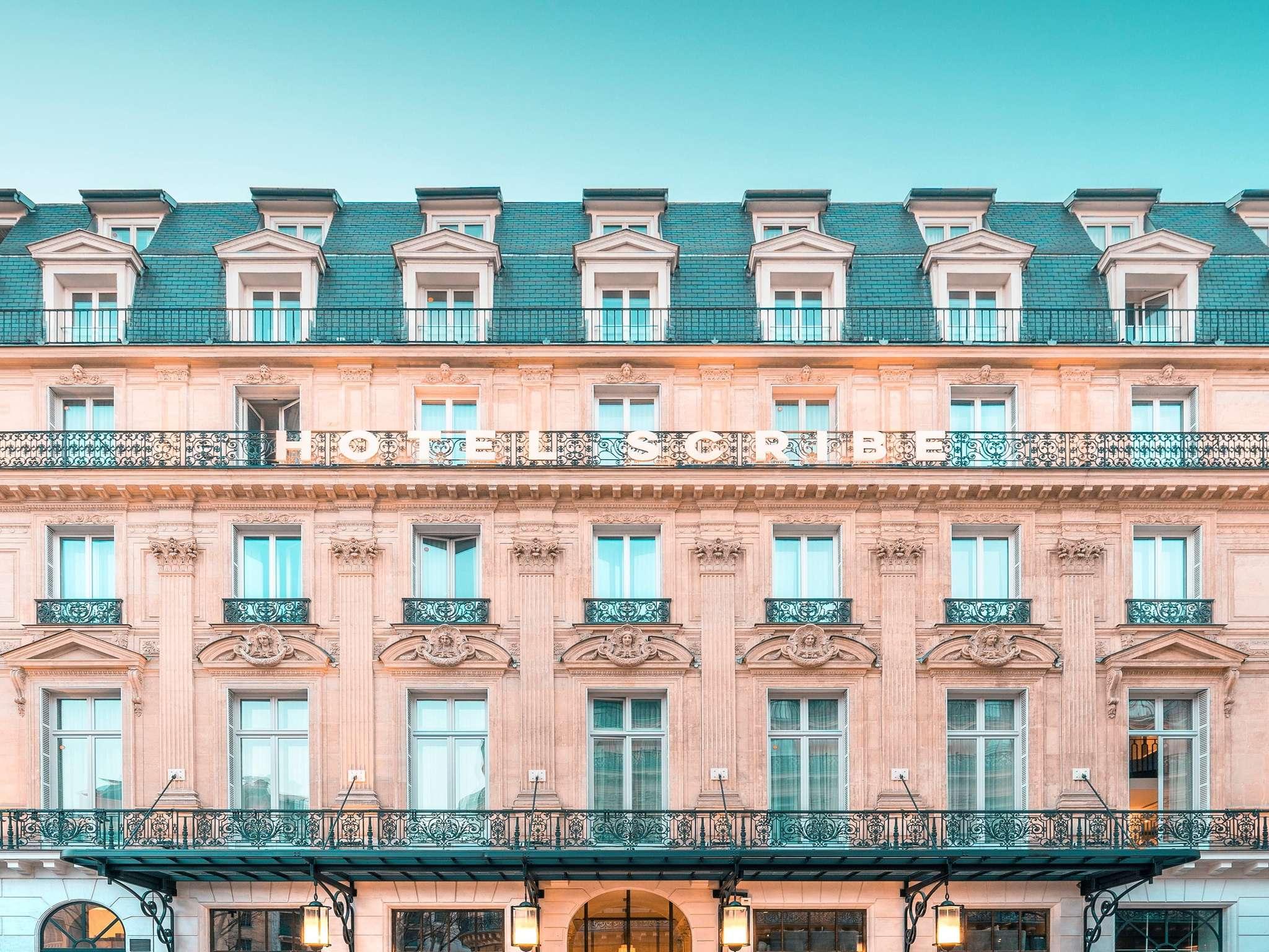 Отель — Отель Scribe Париж Опера под управлением Sofitel