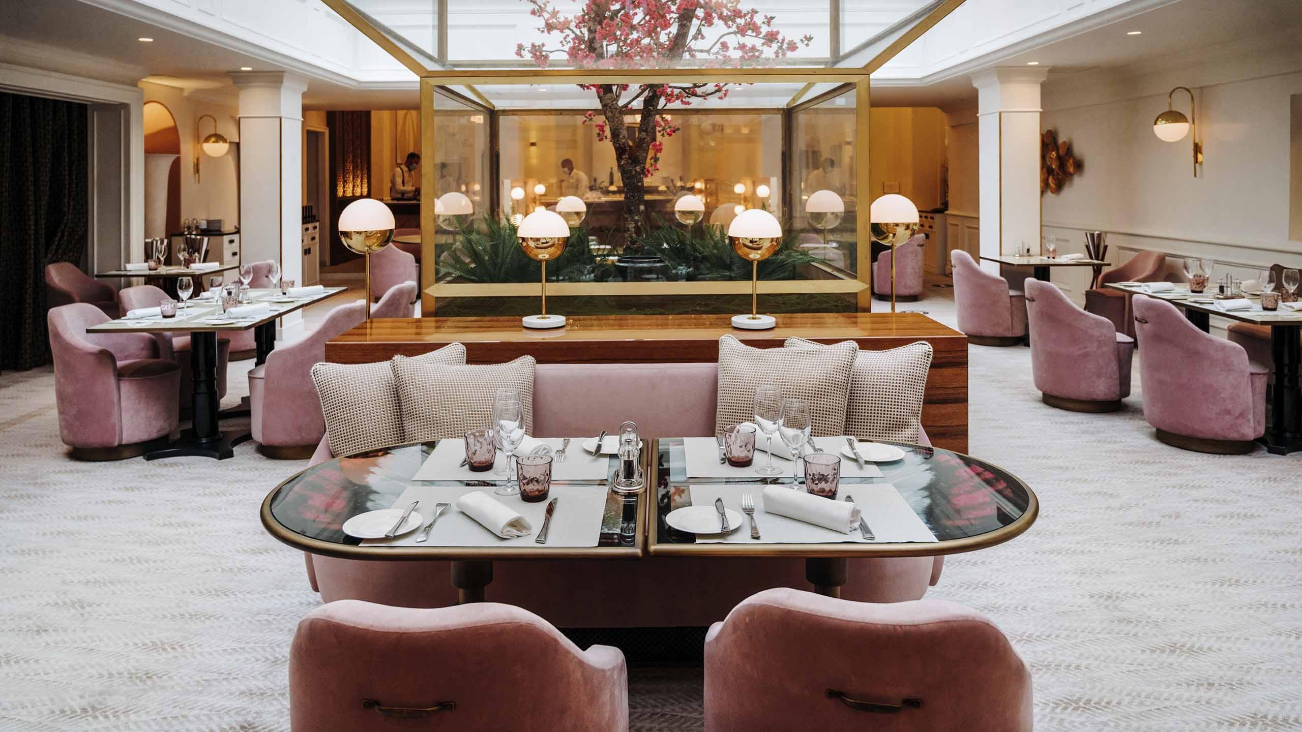 Hotel Scribe Paris Restaurant