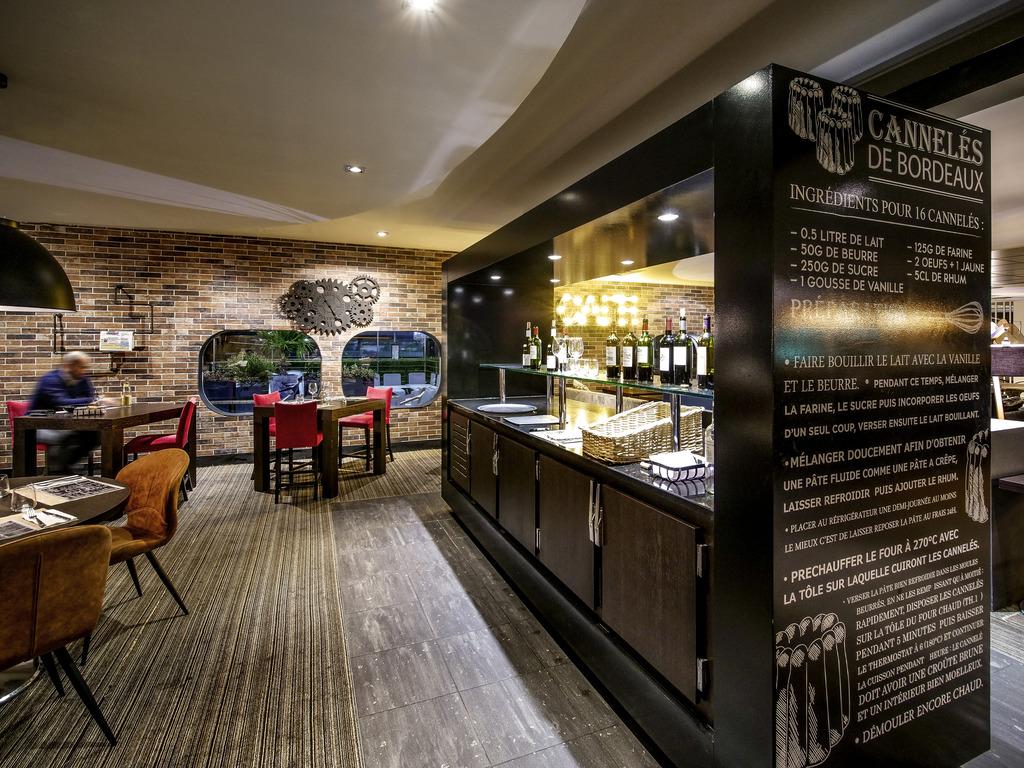 Restaurant Interieur Design.L Aquitania Bordeaux Le Lac Restaurants By Accor