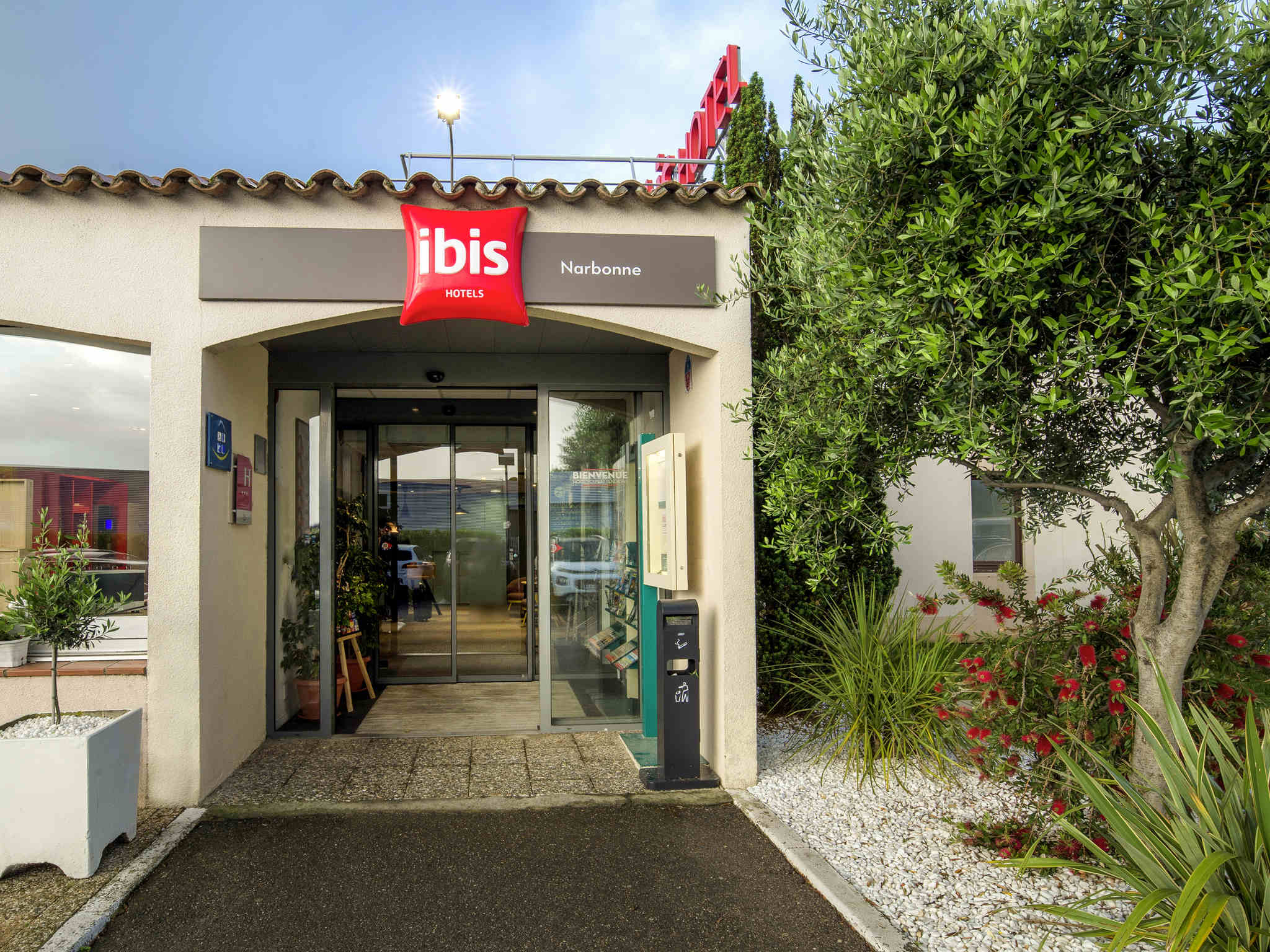 Hotel in narbonne ibis narbonne for Hotels ibis france