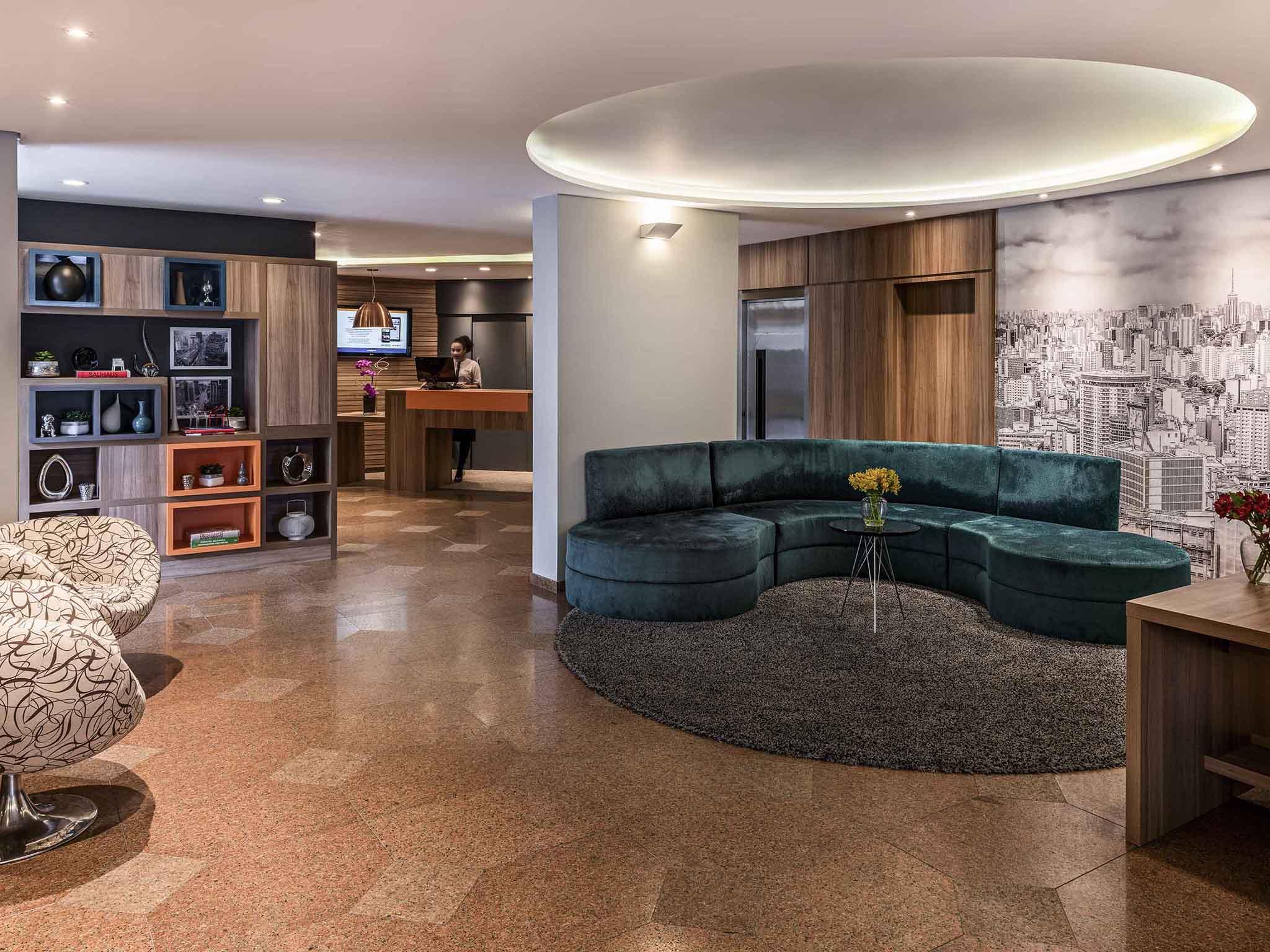 Отель — Mercure Сан-Паулу Аламедас
