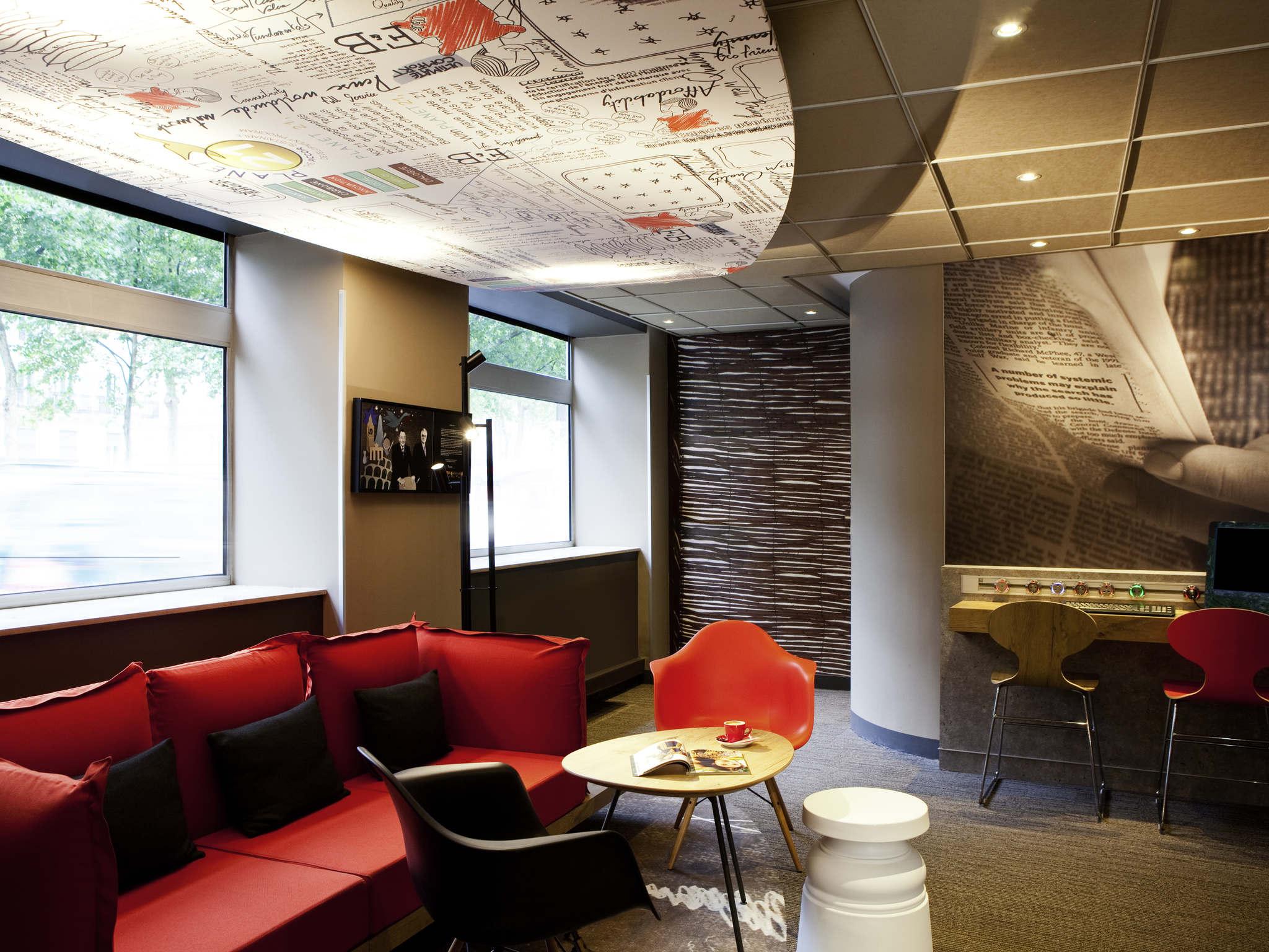 Отель — ibis Париж Базилика Сакре-Кёр 18 округ