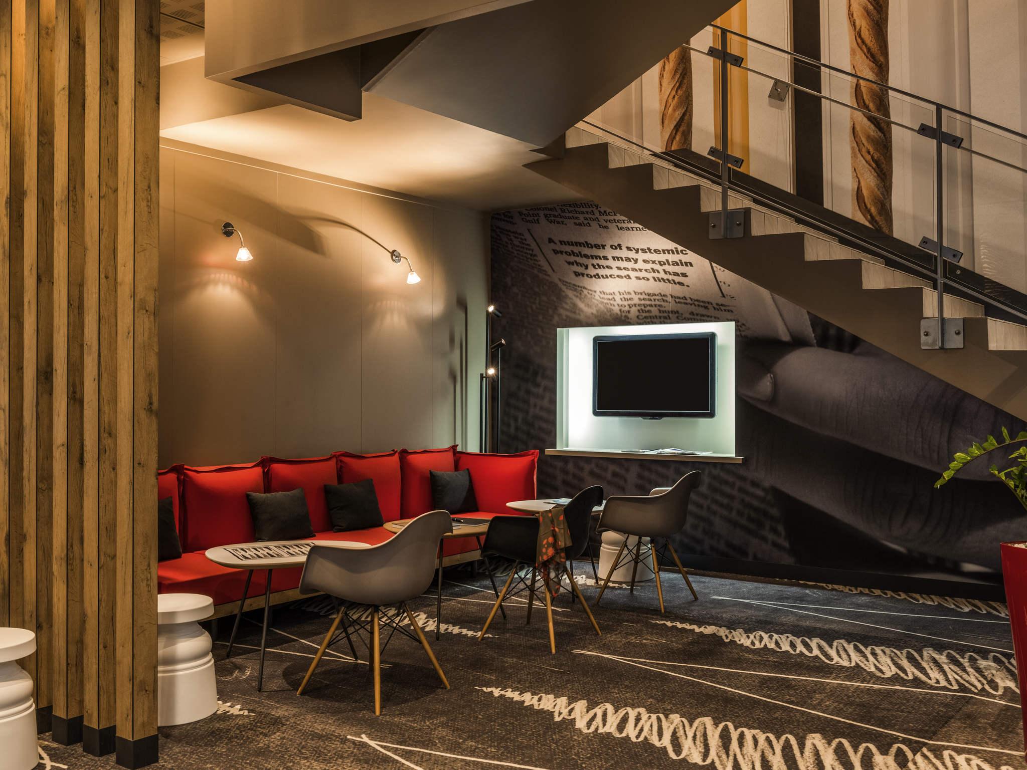 โรงแรม – ไอบิส ปารีส มงมาทร์ 18เอเม่