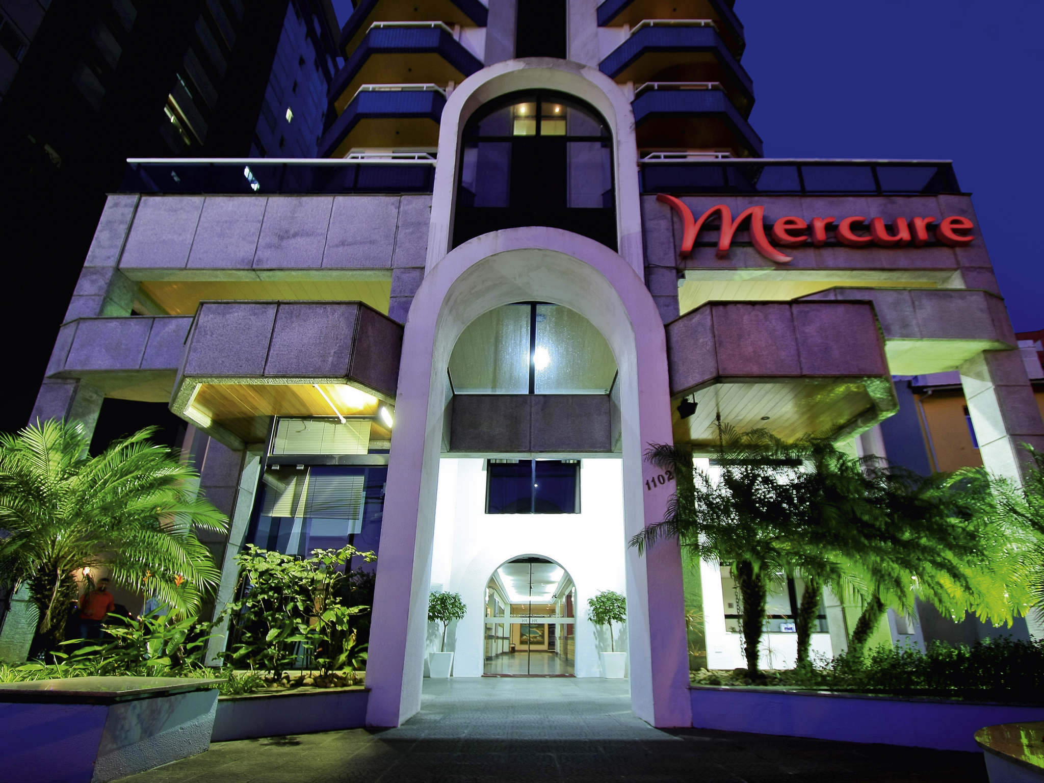 Отель — Mercure Флорианополис Центр