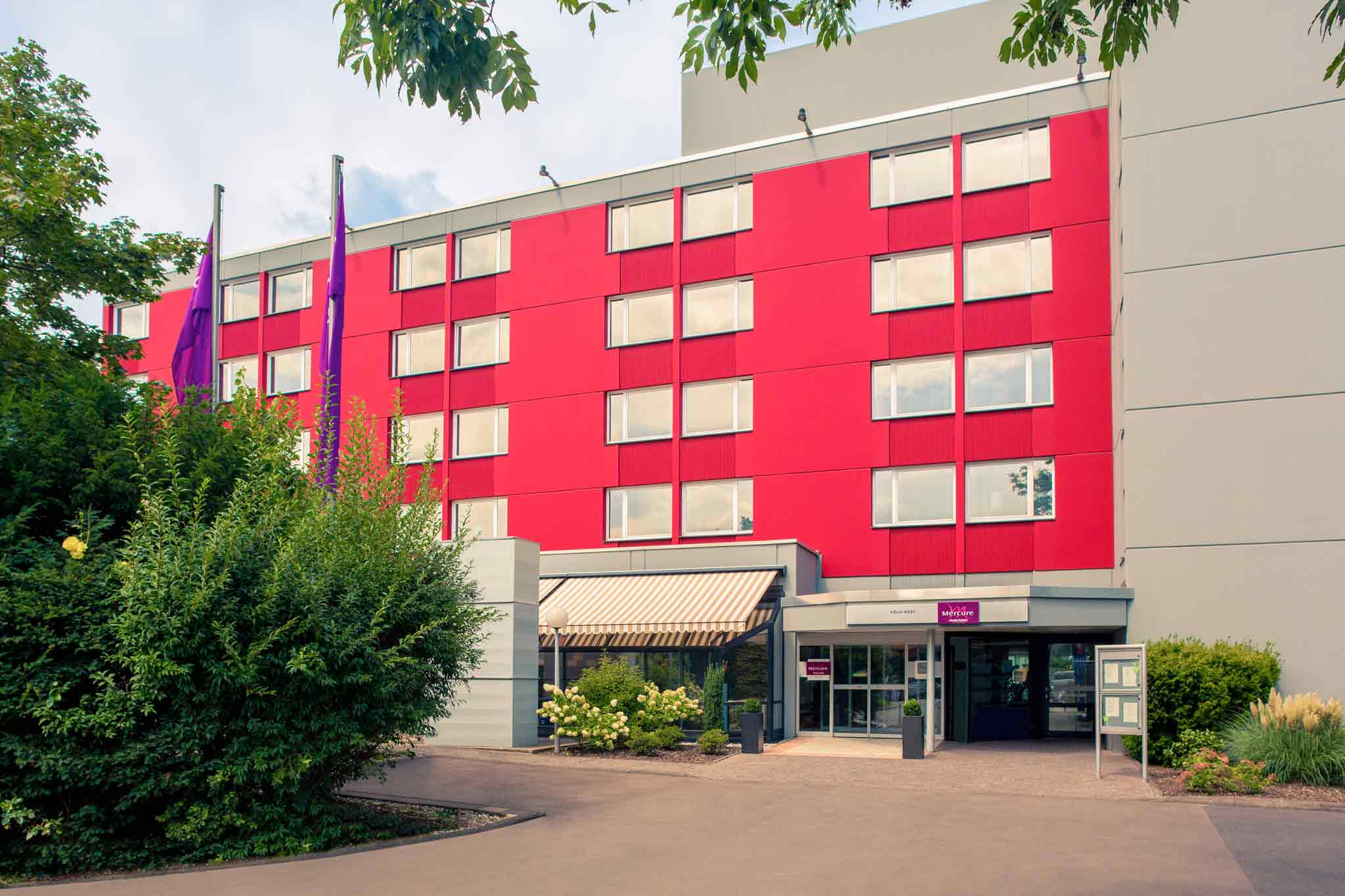 Отель — Mercure Кельн Запад
