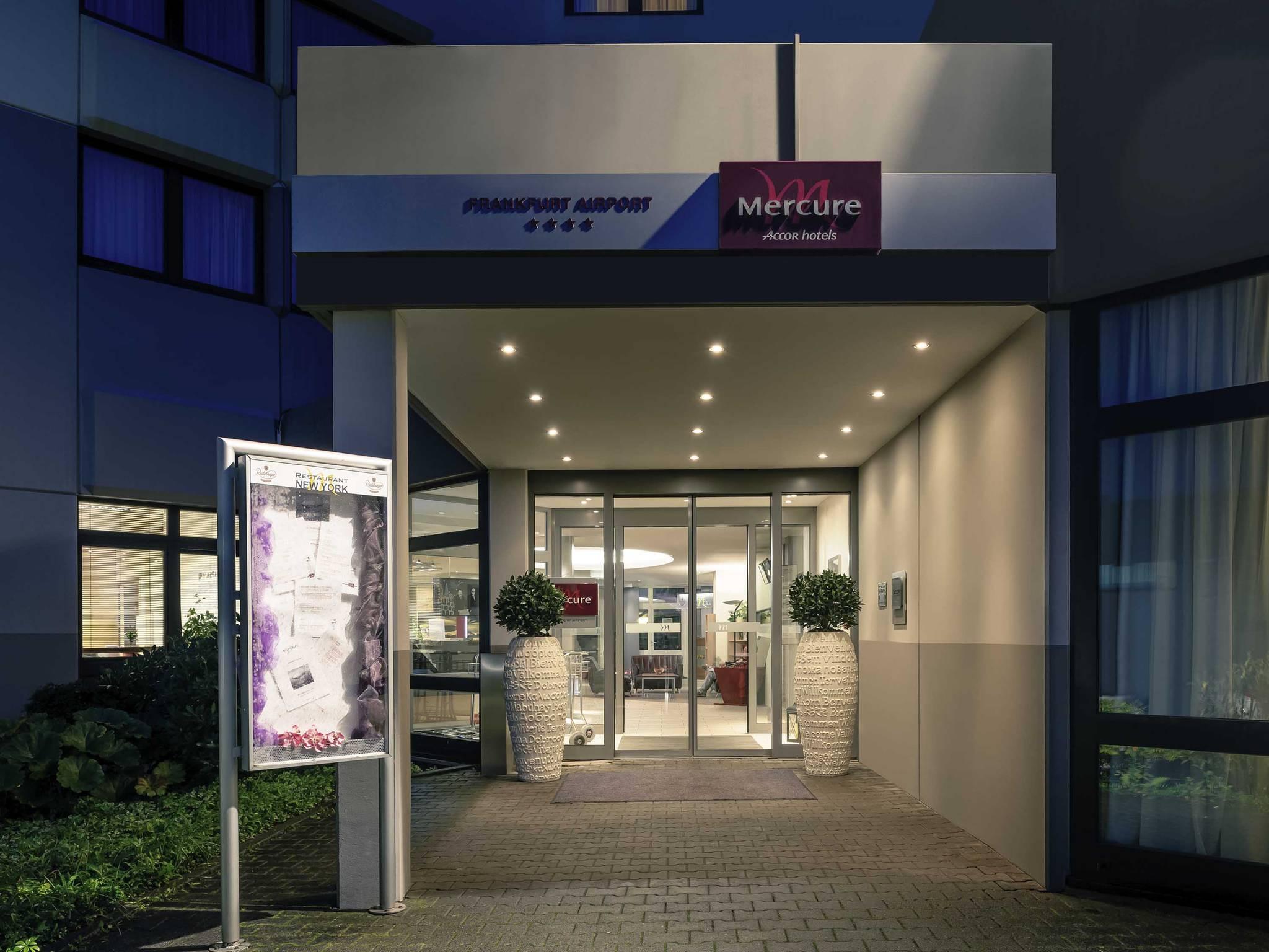 Hotell – Mercure Hotel Frankfurt Airport
